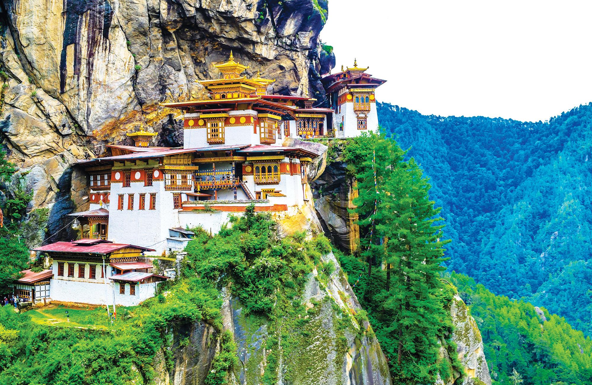 monastère de Taktshang au bhoutan