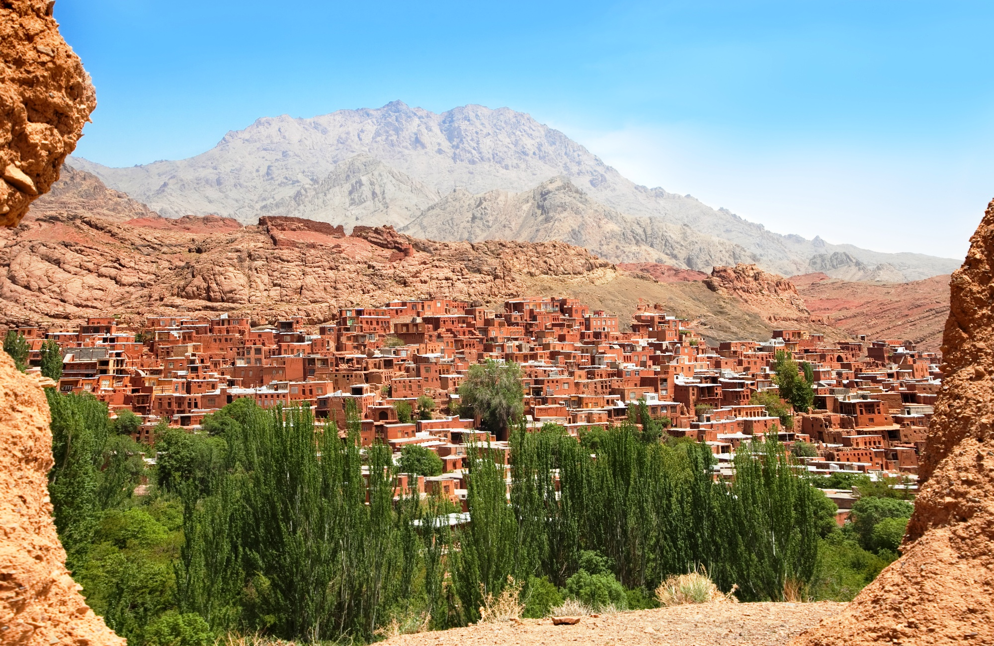 La ville ocre d'Abyaneh