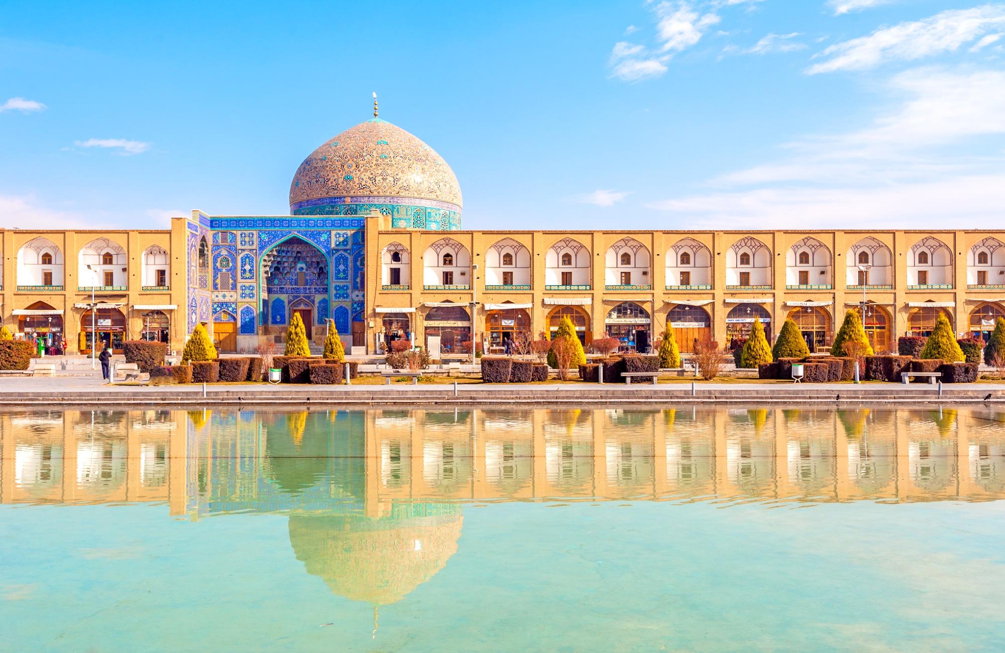 La mosquée du Sheikh Lotfollah à Ispahan