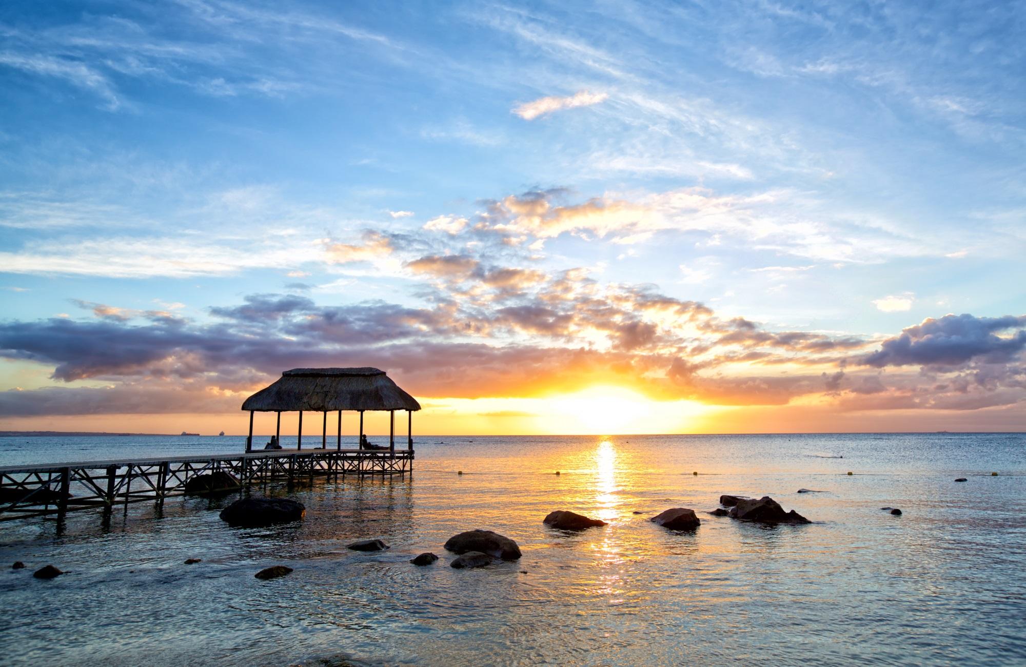 Coucher de soleil Île Maurice