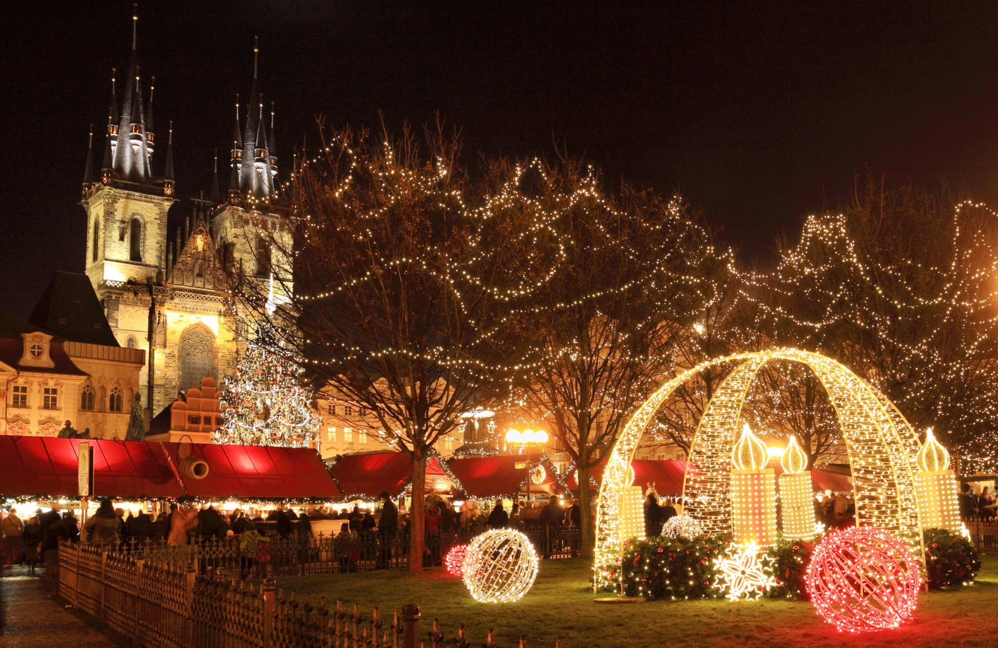 Vieille Ville de Prague Noël