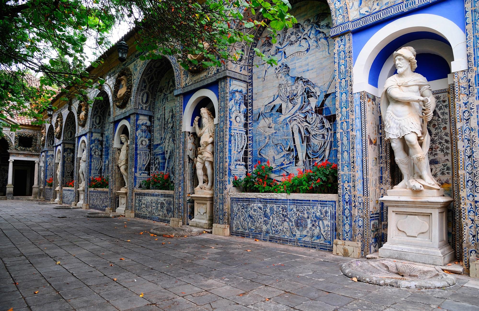 Week-end Lisbonne - jardins du Palais des Marquis de Fronteira - Amplitudes