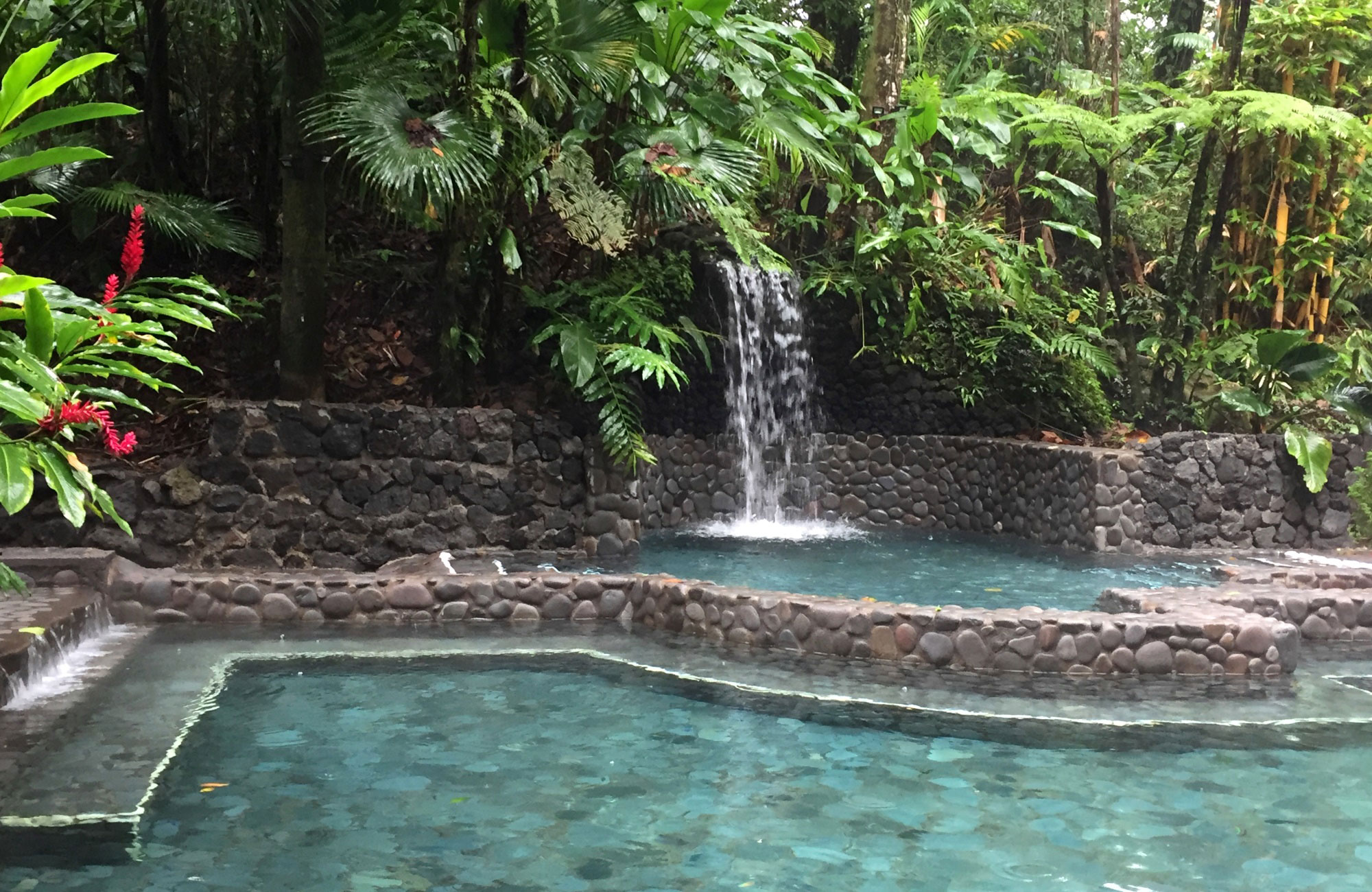 Voyage Costa Rica - Sources thermales Arenal - Amplitudes
