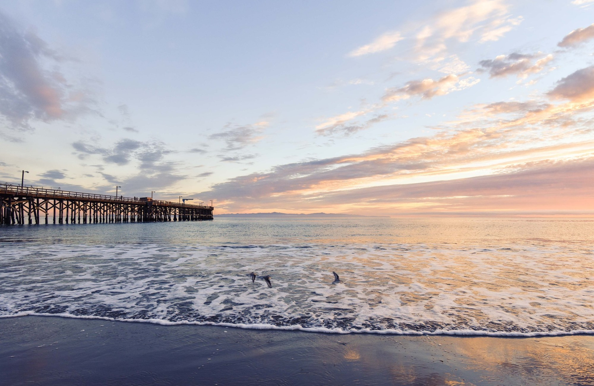 Voyage Los Angeles - Hermosa Pier - Amplitudes
