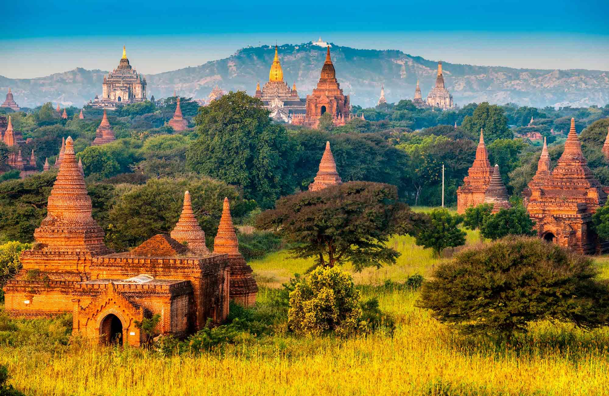 Voyage Birmanie-Myanmar - Bagan - Amplitudes