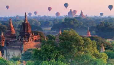 Voyage Birmanie - Montgolfière Bagan - Amplitudes