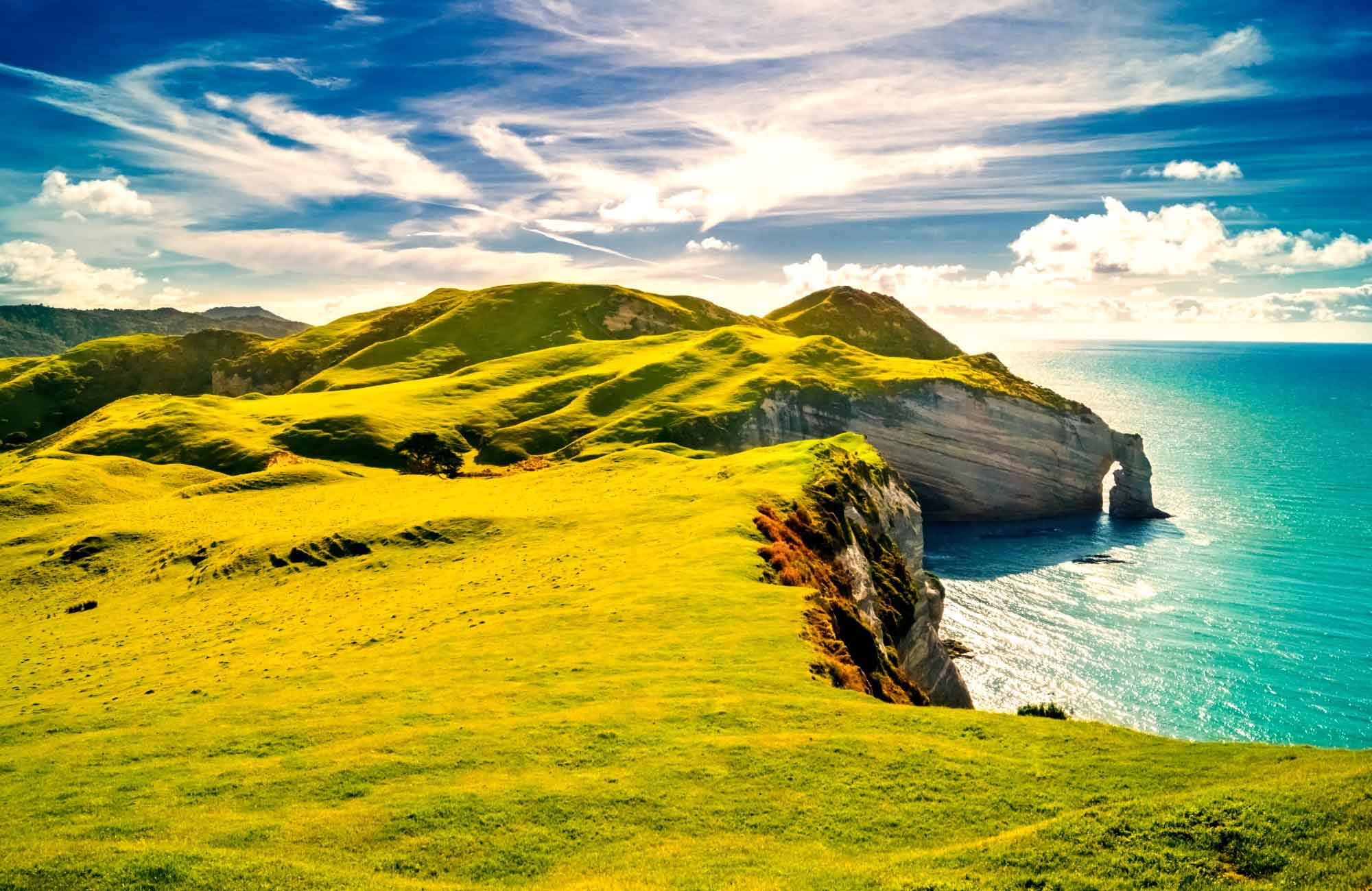 Voyage Nouvelle-Zélande - Cap Farewell - Amplitudes