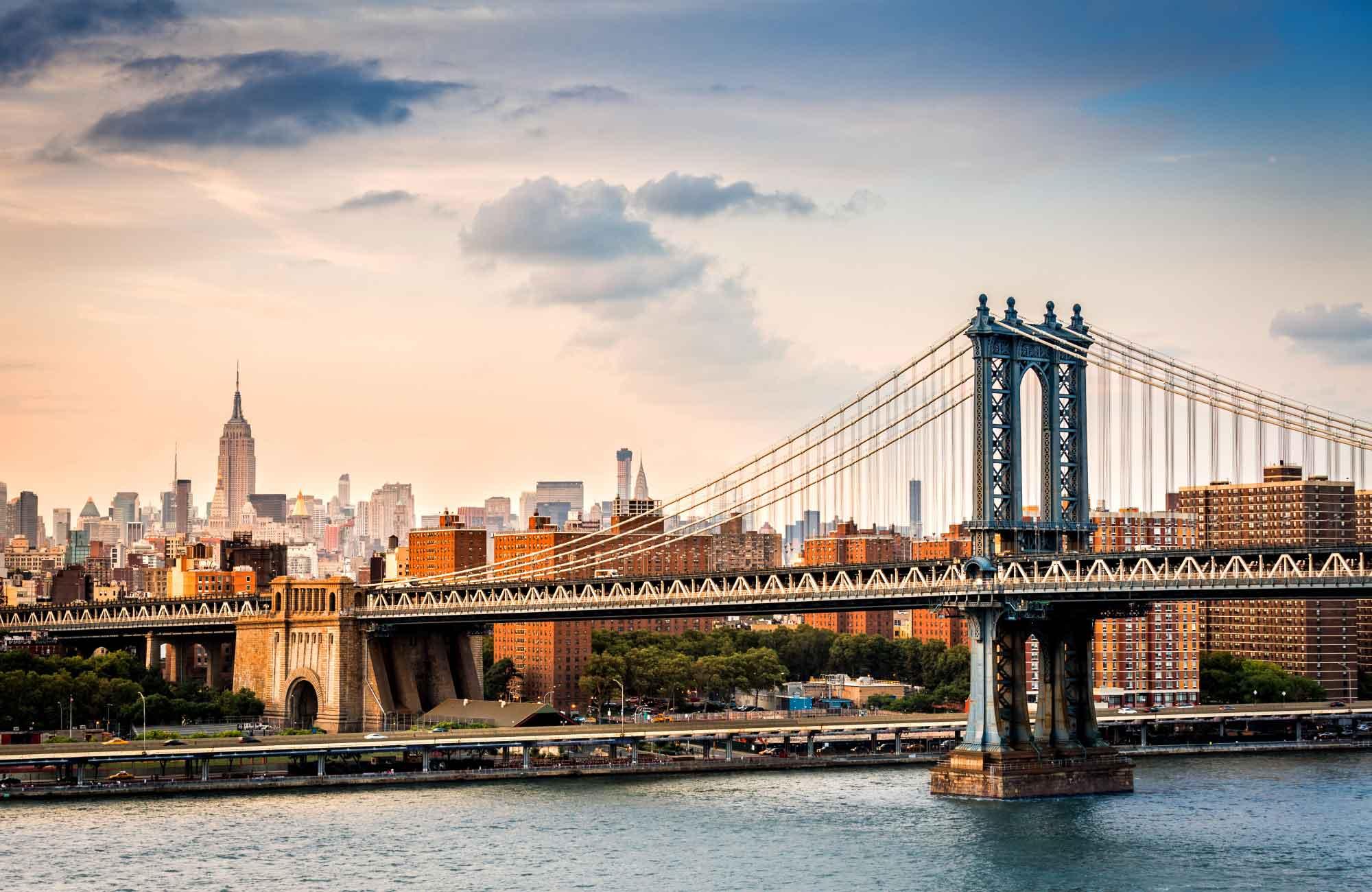 Voyage Etats-Unis - New York et le pont de Manhattan - Amplitudes