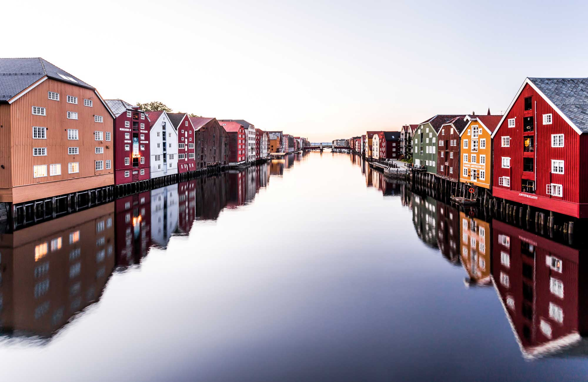 Voyage Norvège - Trondheim River - Amplitudes
