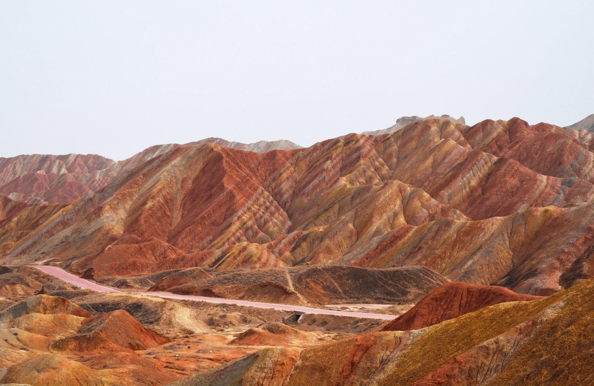 Voyage Chine - Montagne arc en ciel Le parc géologique national de Zhangye Danxia - Amplitudes