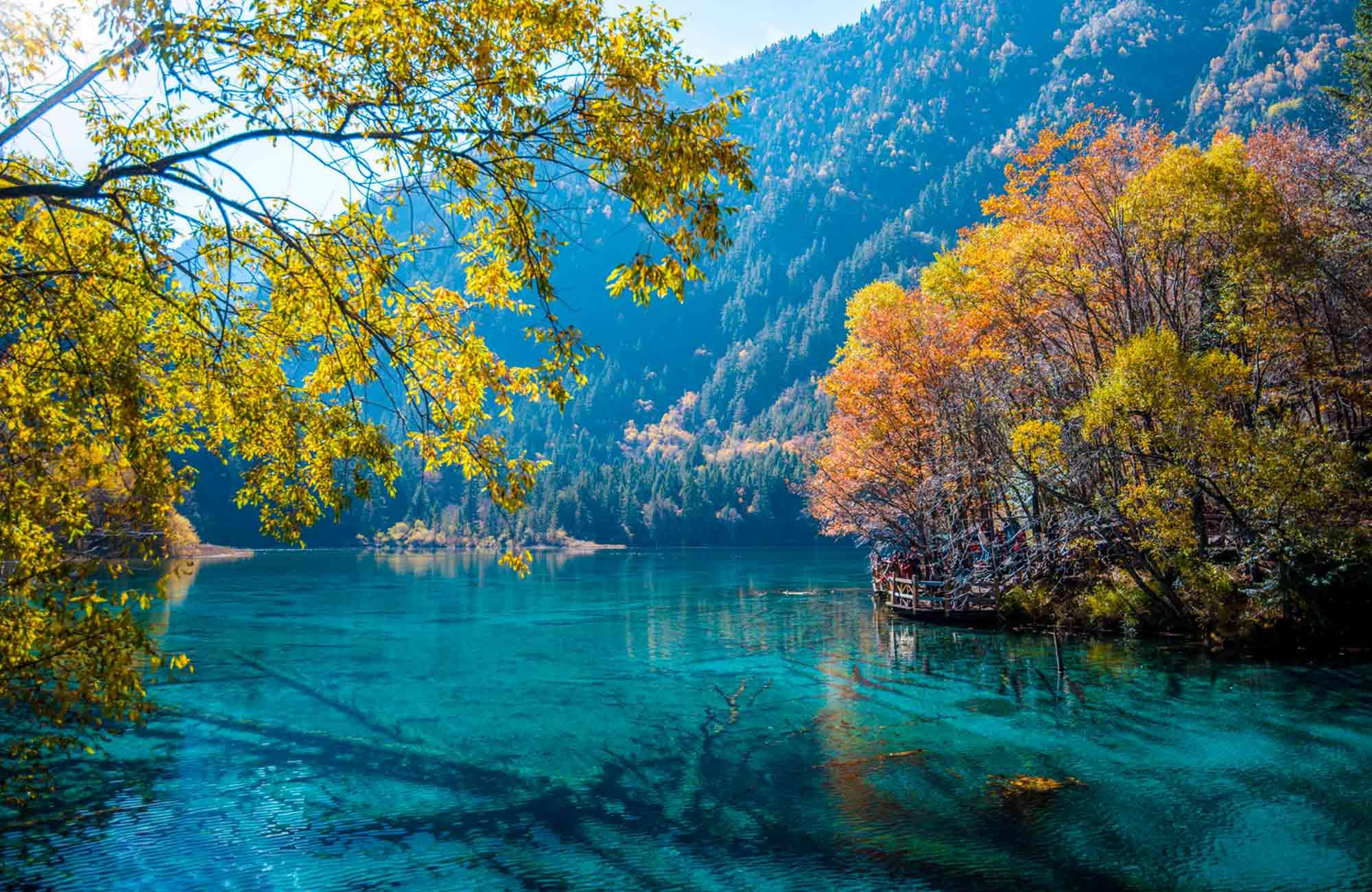 Voyage Chine - Lac 5 Fleurs - Amplitudes
