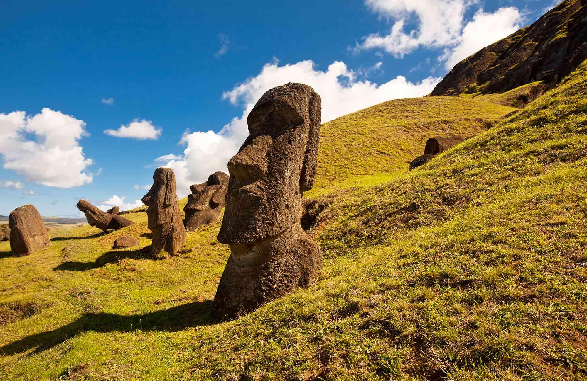 Voyage Ile de Pâques - Rano Raraku - Amplitudes