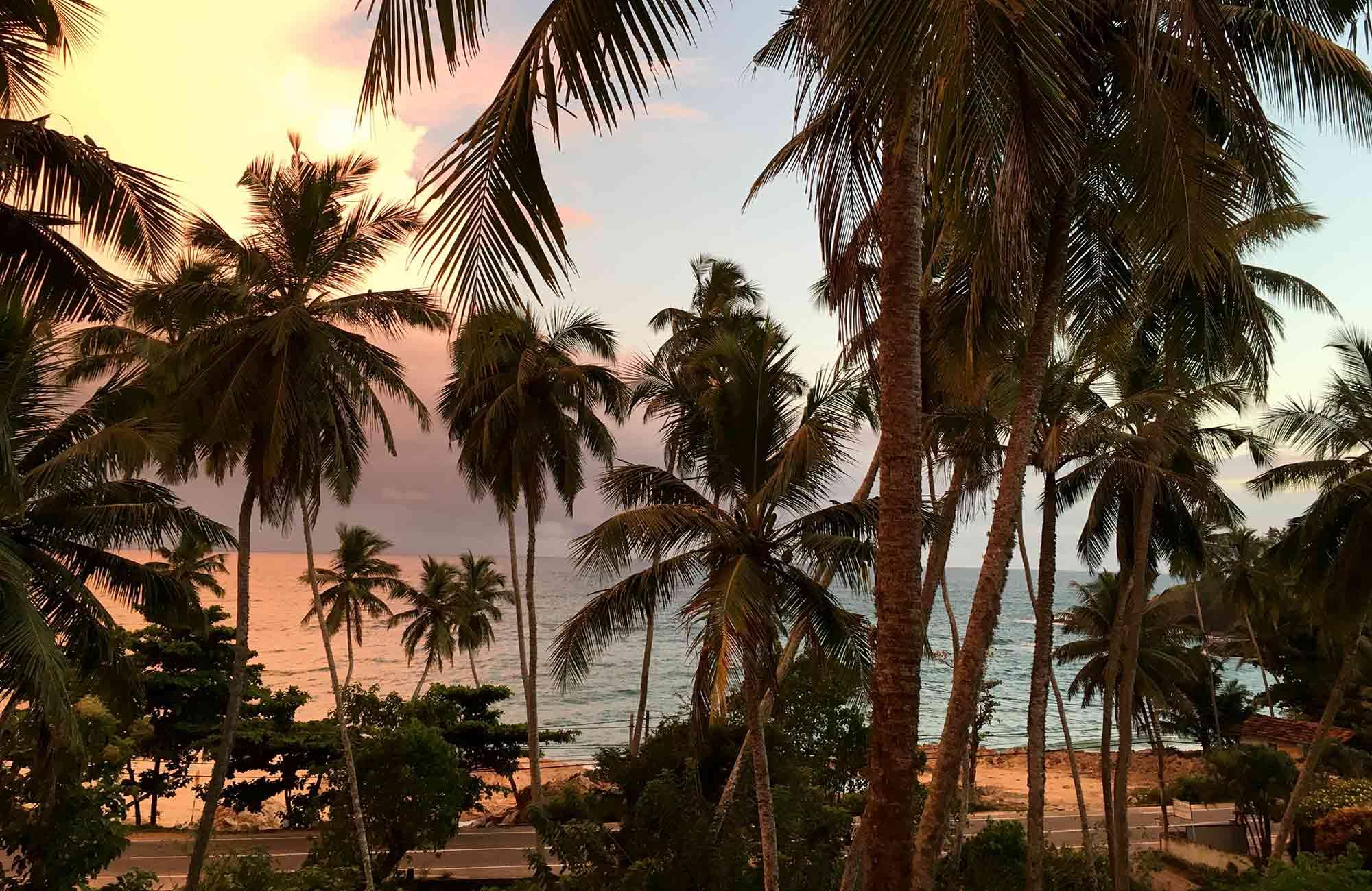 Voyage Sri-Lanka - Coucher de Soleil - Amplitudes
