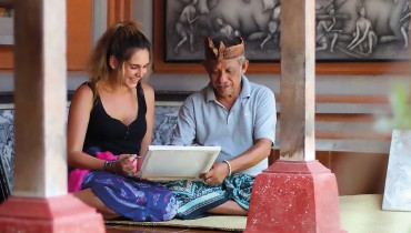 Voyage Indonésie - Peintre à Bali - Amplitudes