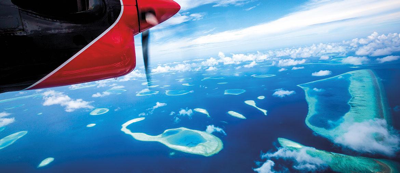 Voyage Maldives - Maldives Océan Indien vue du ciel - Amplitudes