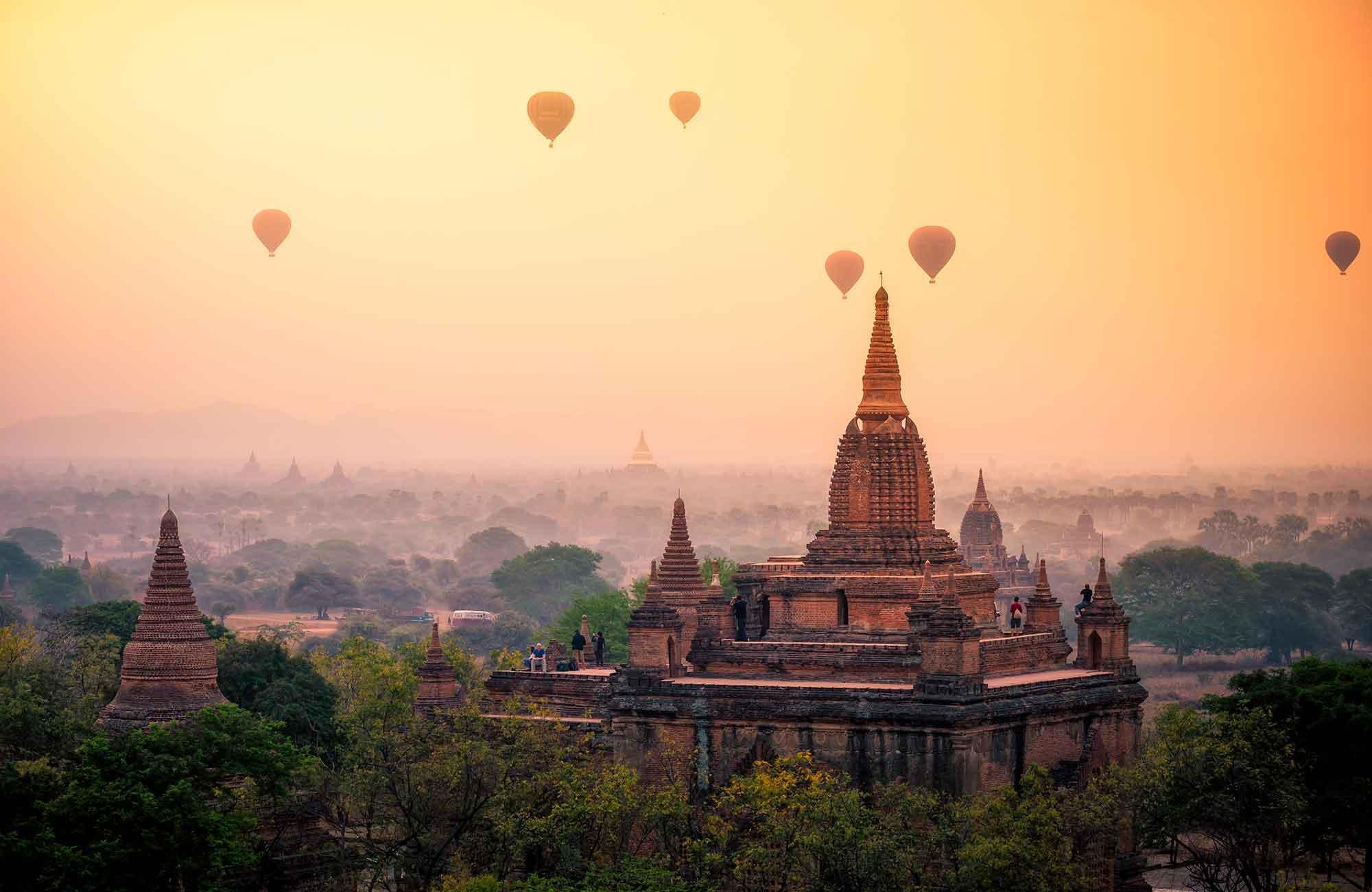 Voyage Myanmar - Bagan Montgolfière - Amplitudes