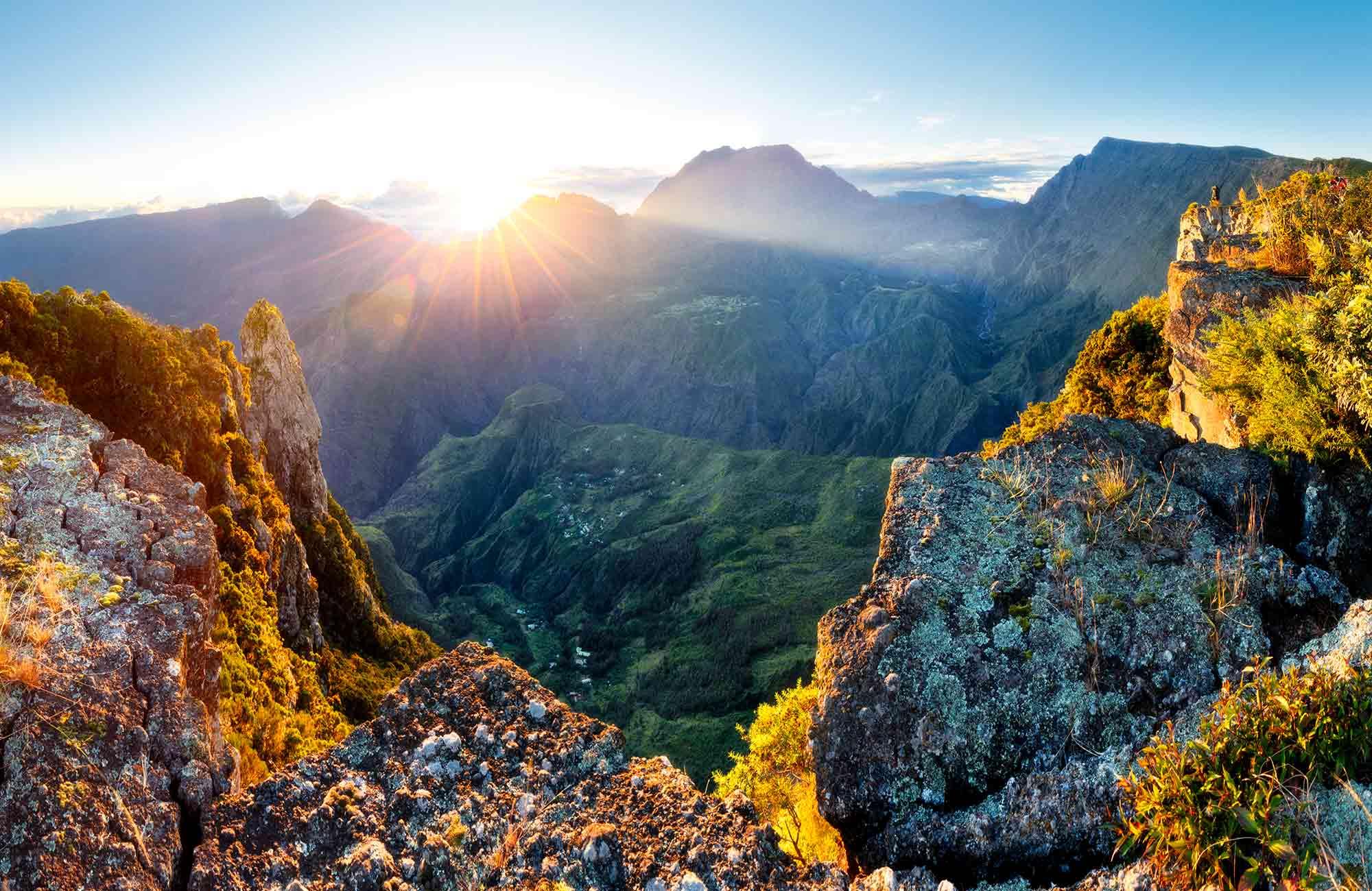 Voyage à La Réunion - Aube Piton des Neiges - Amplitudes