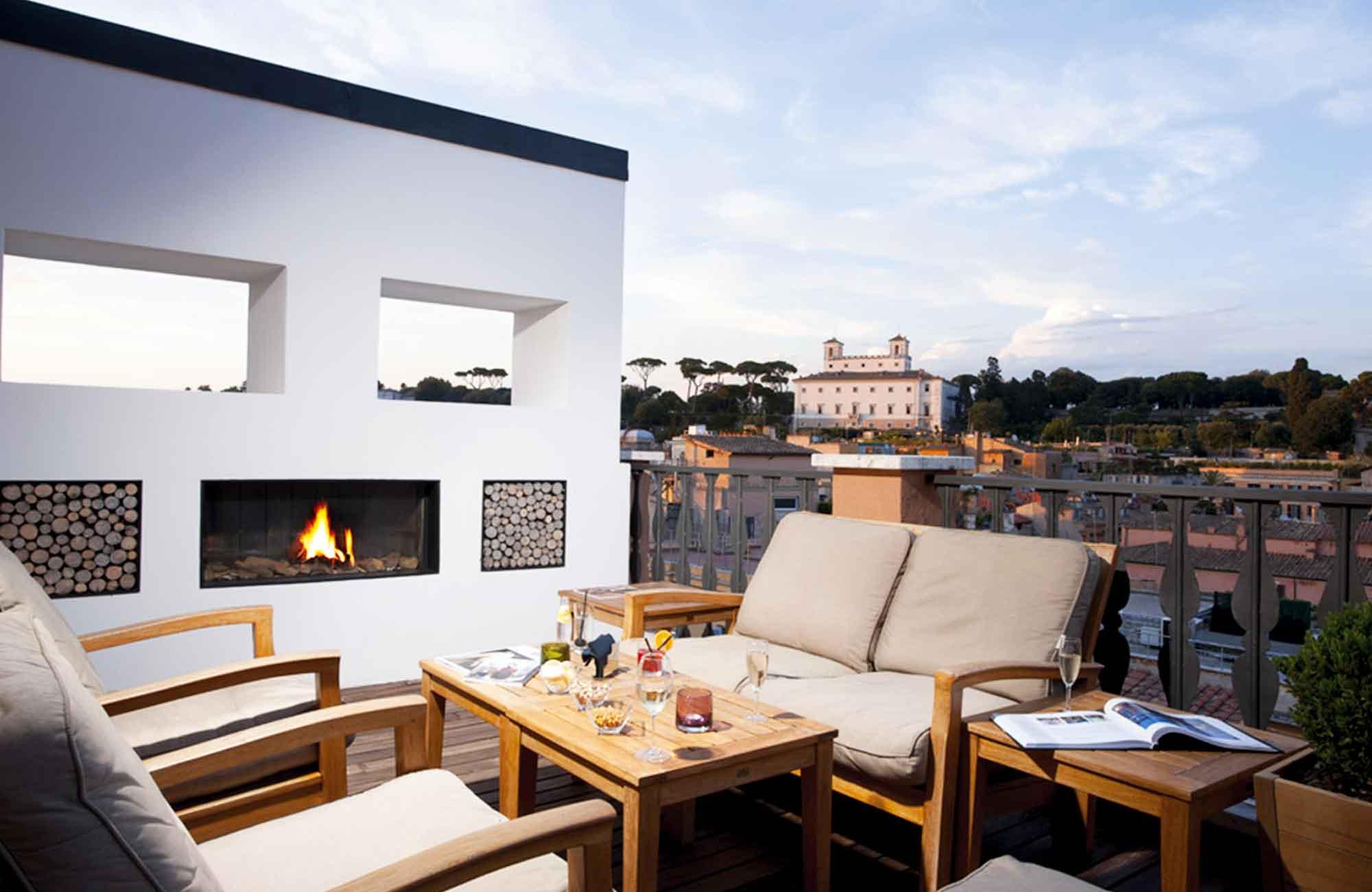 Voyage Italie - Séjour Rome Rooftop Portrait Roma