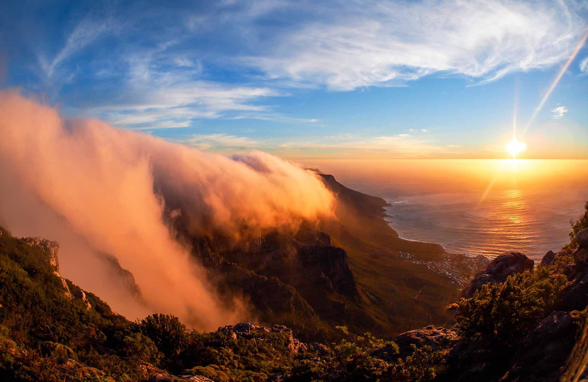 Voyage Afrique du Sud - Table Mountain Vue Panormarique - Amplitudes