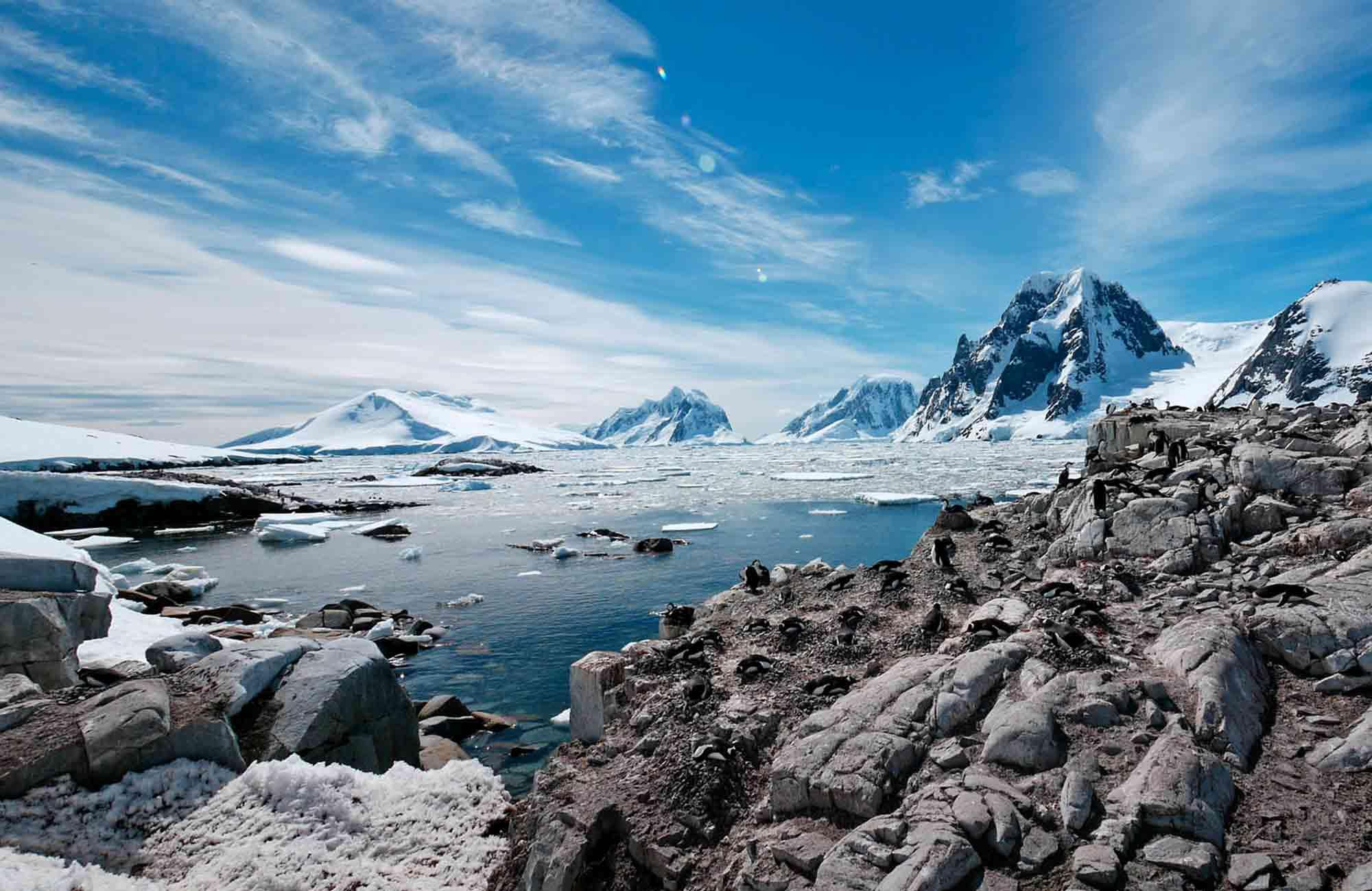 Voyage Antarctique - baie glaciaire - Amplitudes