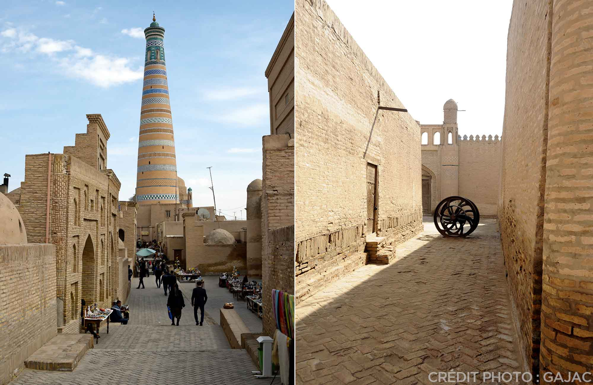 Voyage Ouzbékistan Route de la Soie - Rues Khiva - Amplitudes