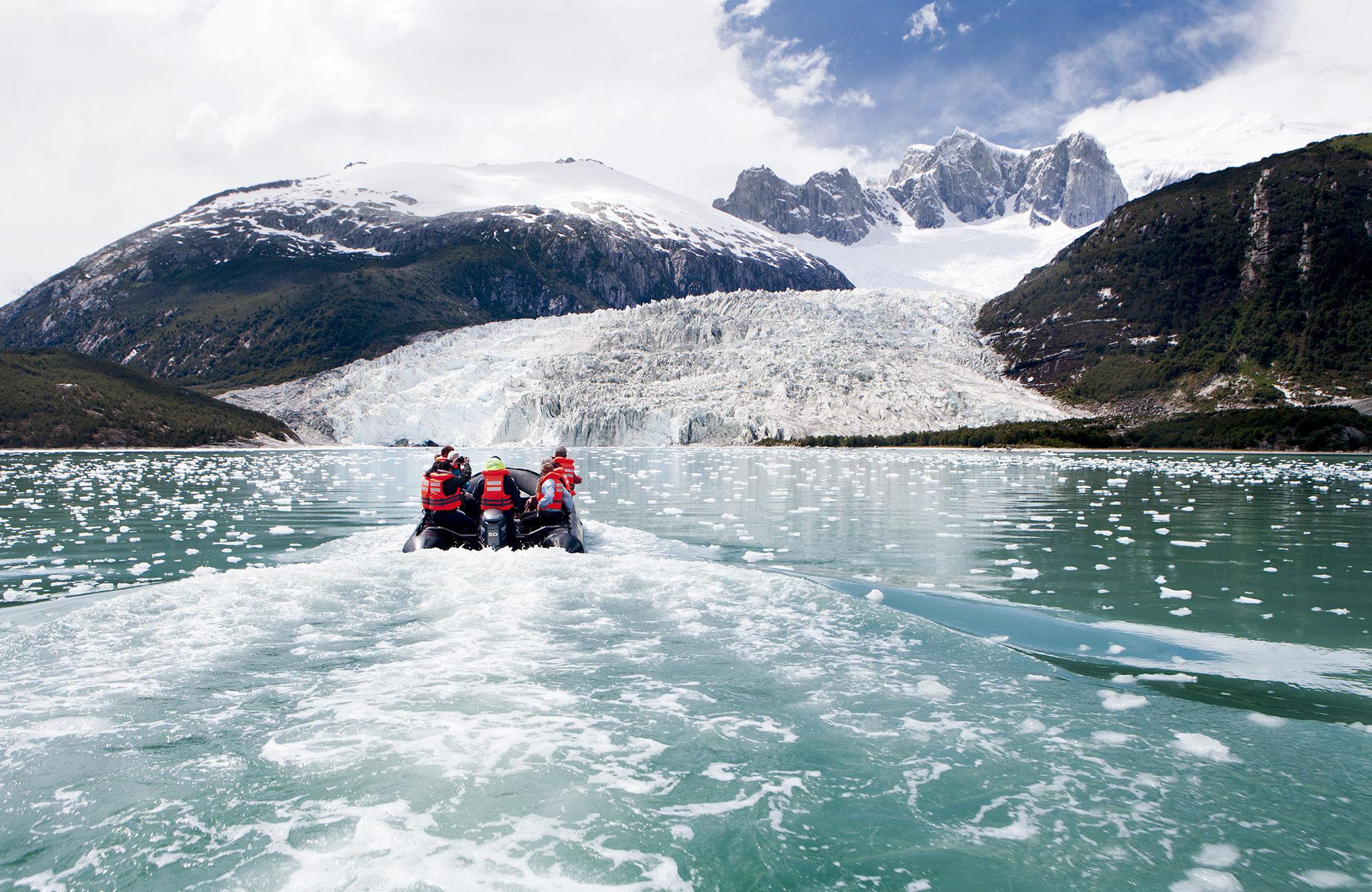 Voyage Patagonie Chili - Glacier Pia - Amplitudes