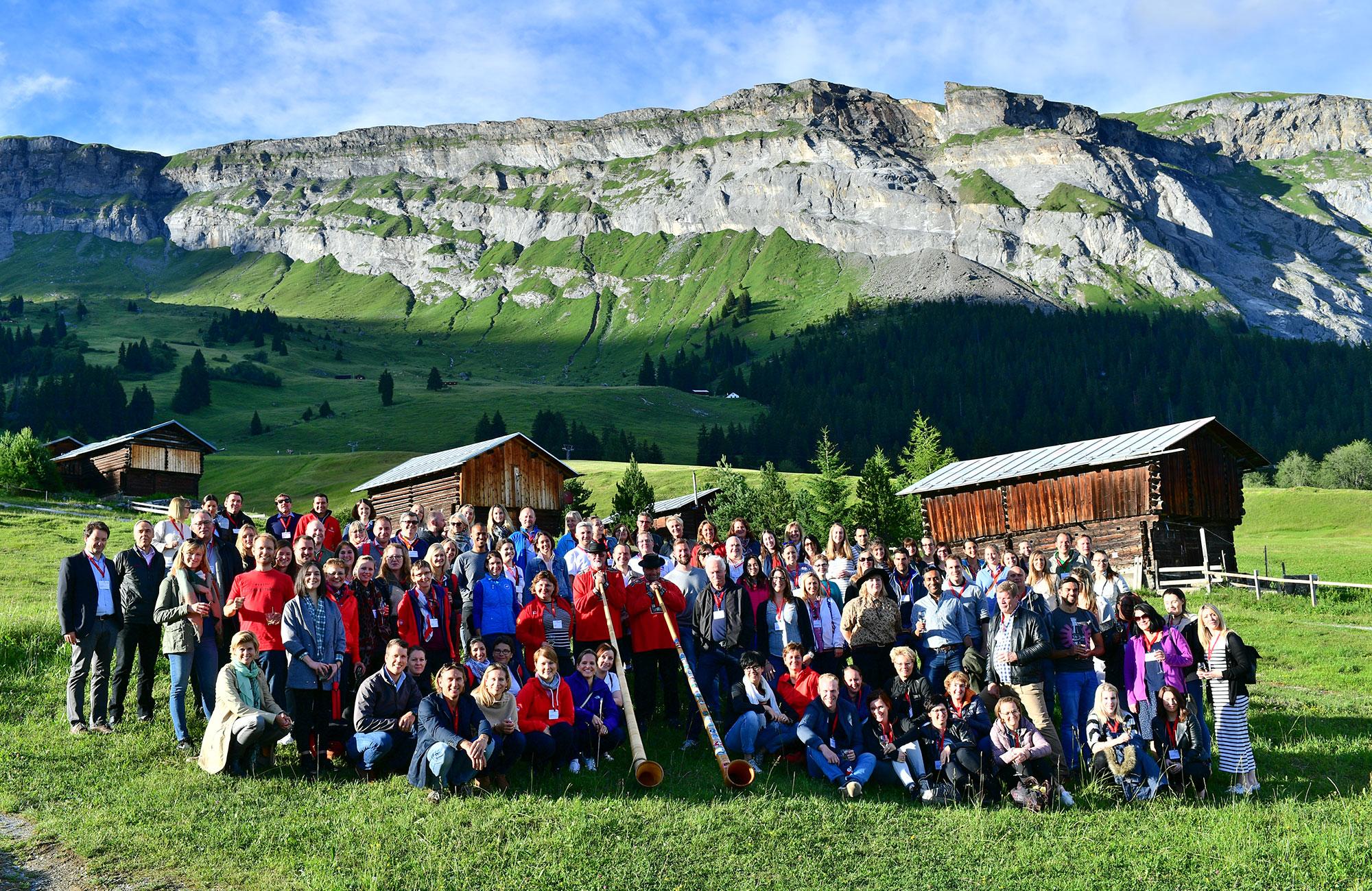 Voyage MICE Suisse - Groupe Switzerland Meeting Trophy - Amplitudes