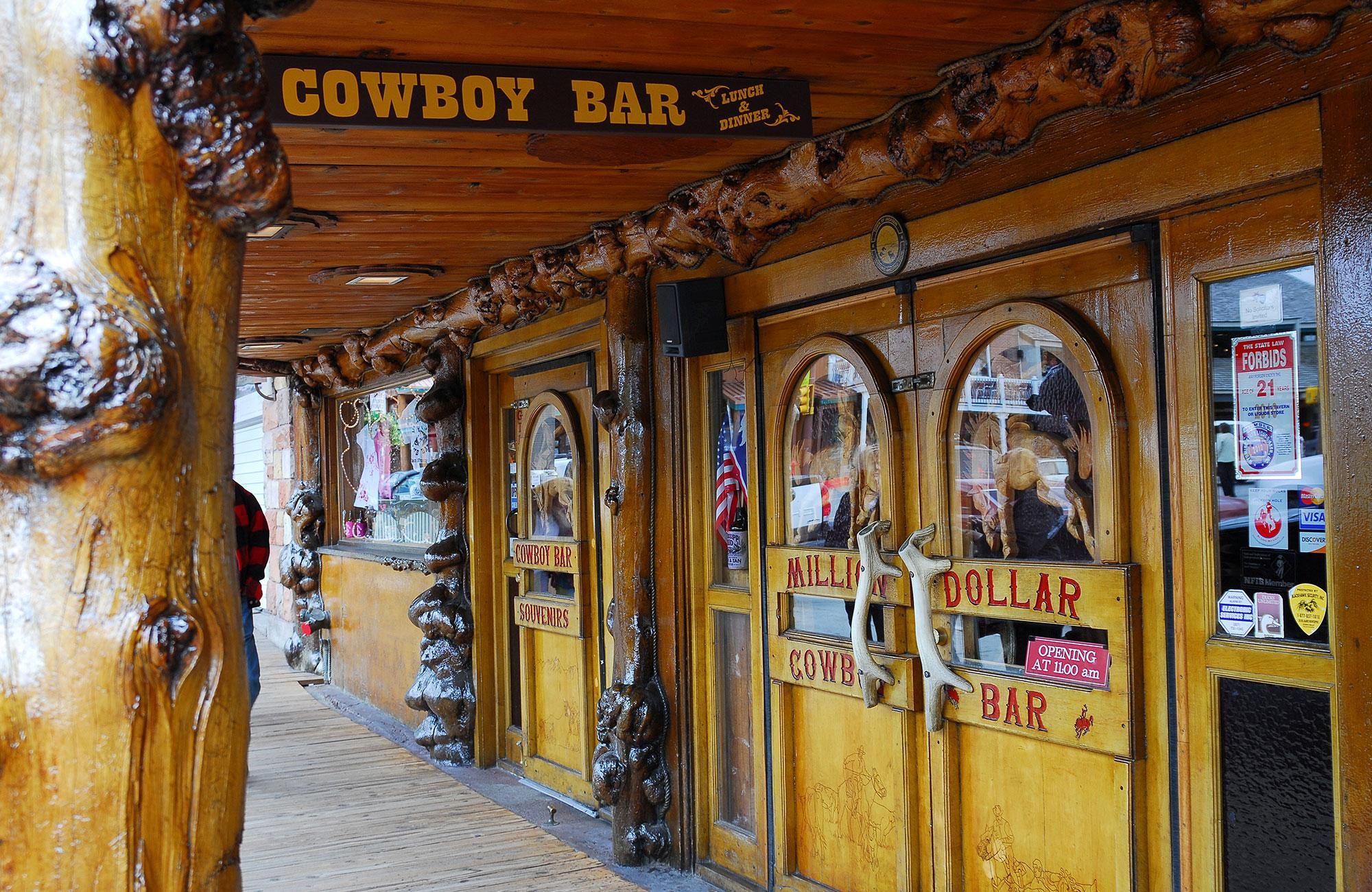 Pause au saloon du coin...