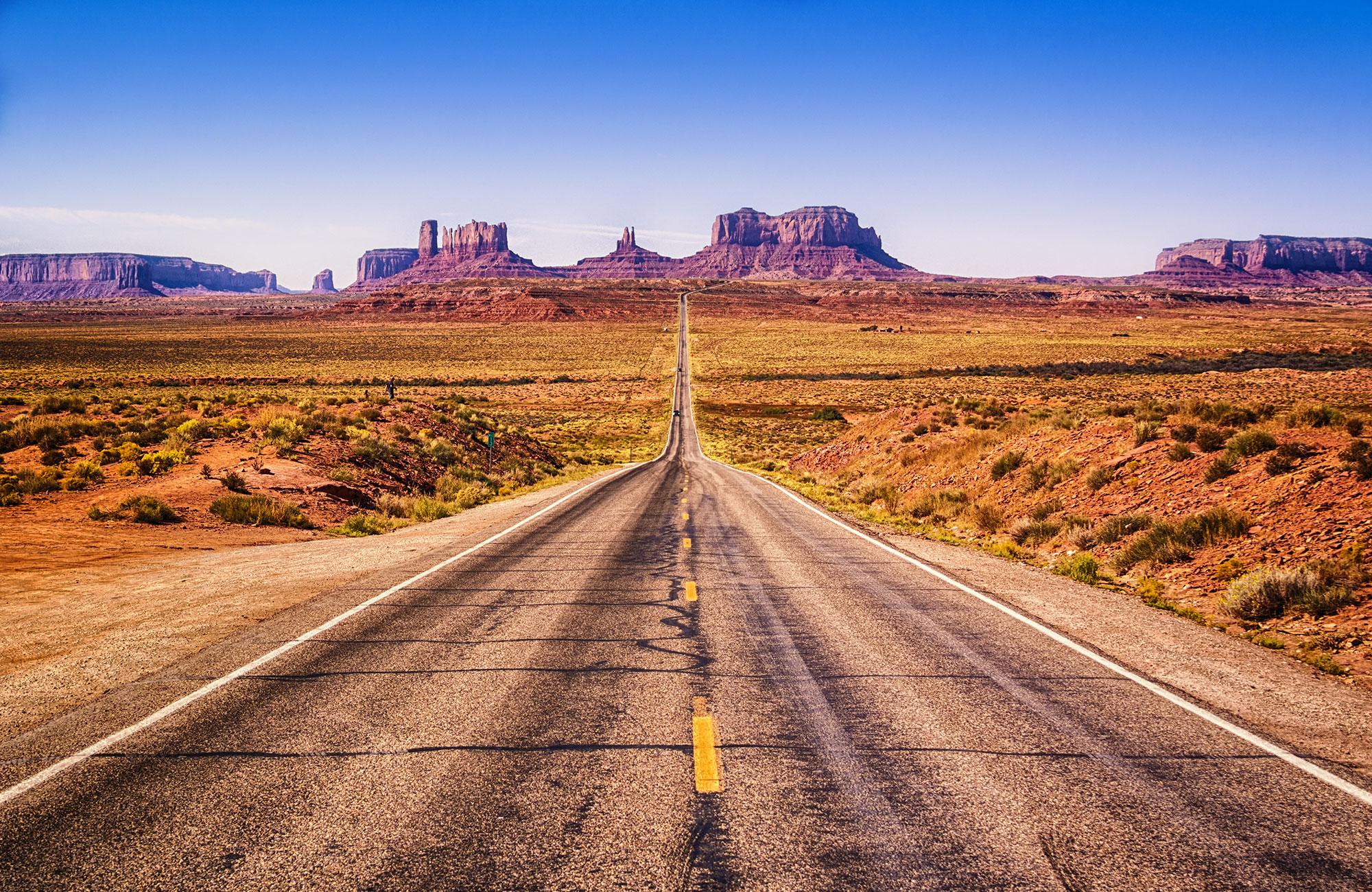 Voyage Ouest américain - Monument Valley route - Amplitudes
