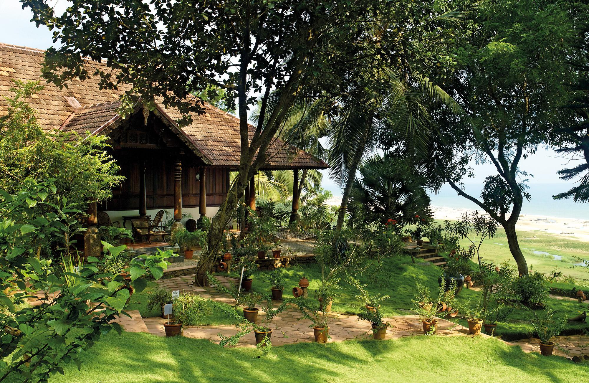 Voyage Inde du Sud Kerala - Bungalow Somatheeram Hotel - Amplitudes
