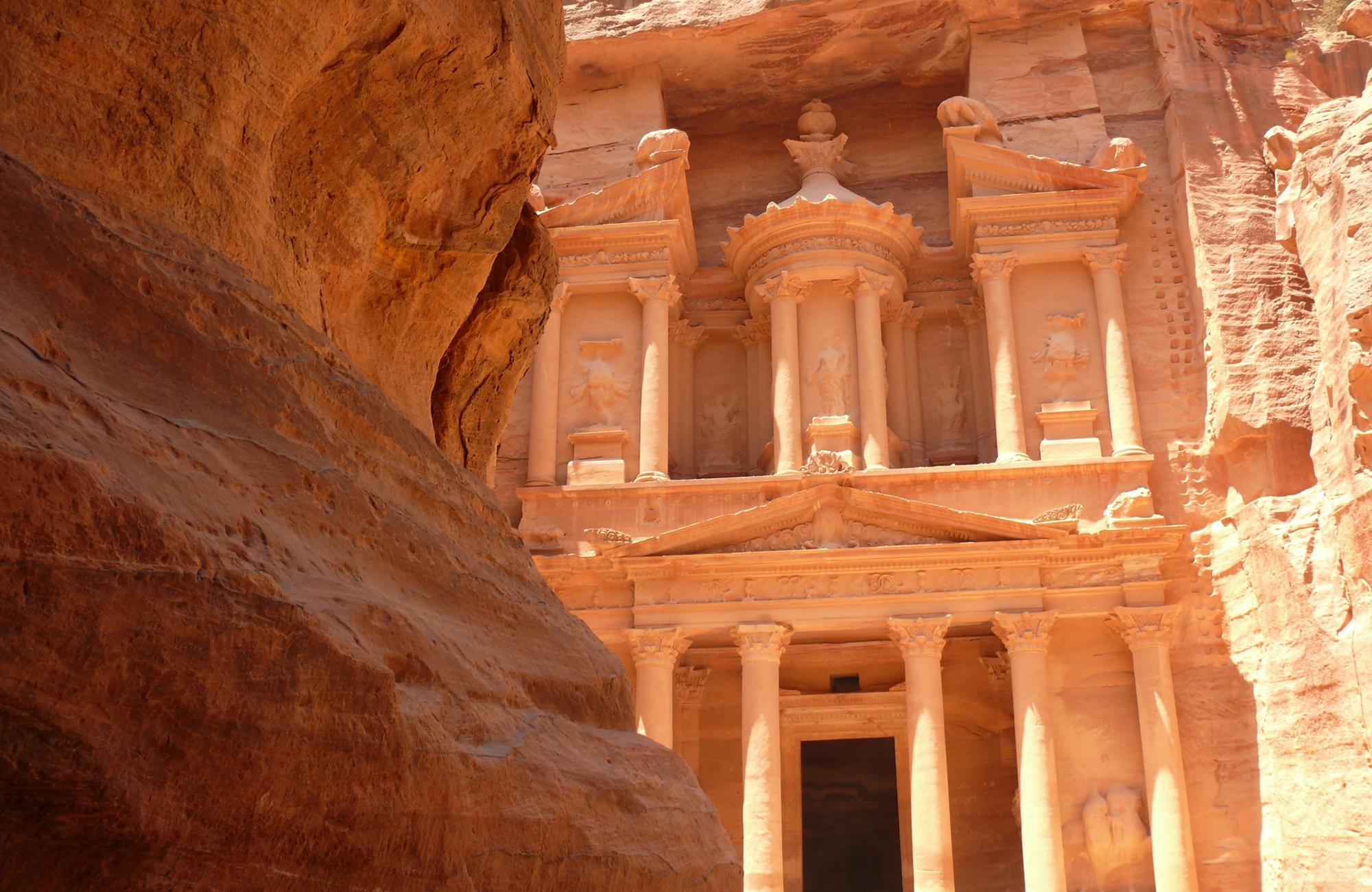 Jordanie-Petra-roche-Amplitudes