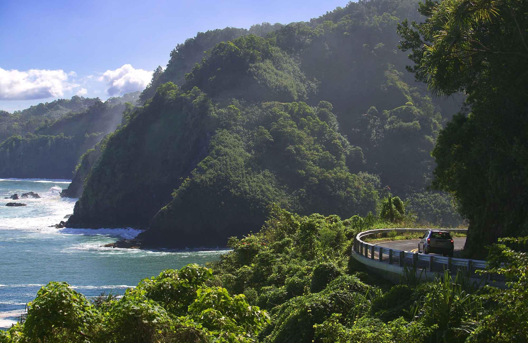 Voyage Etats-Unis - Hana-Highway - Amplitudes