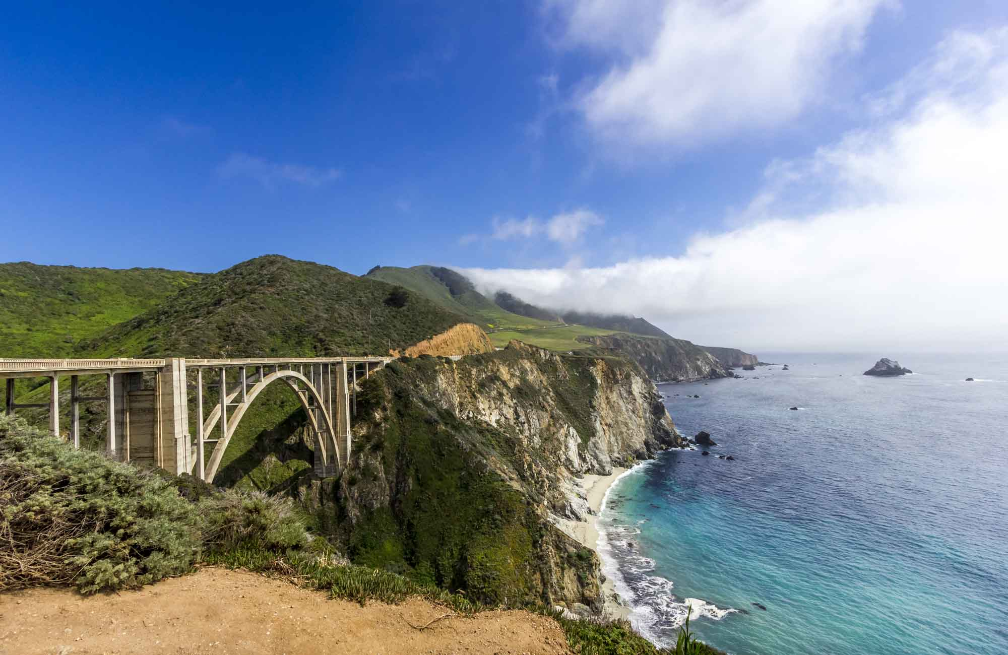 Voyage Etats-Unis - Bixby Bridge califonie-route-1 - Amplitudes