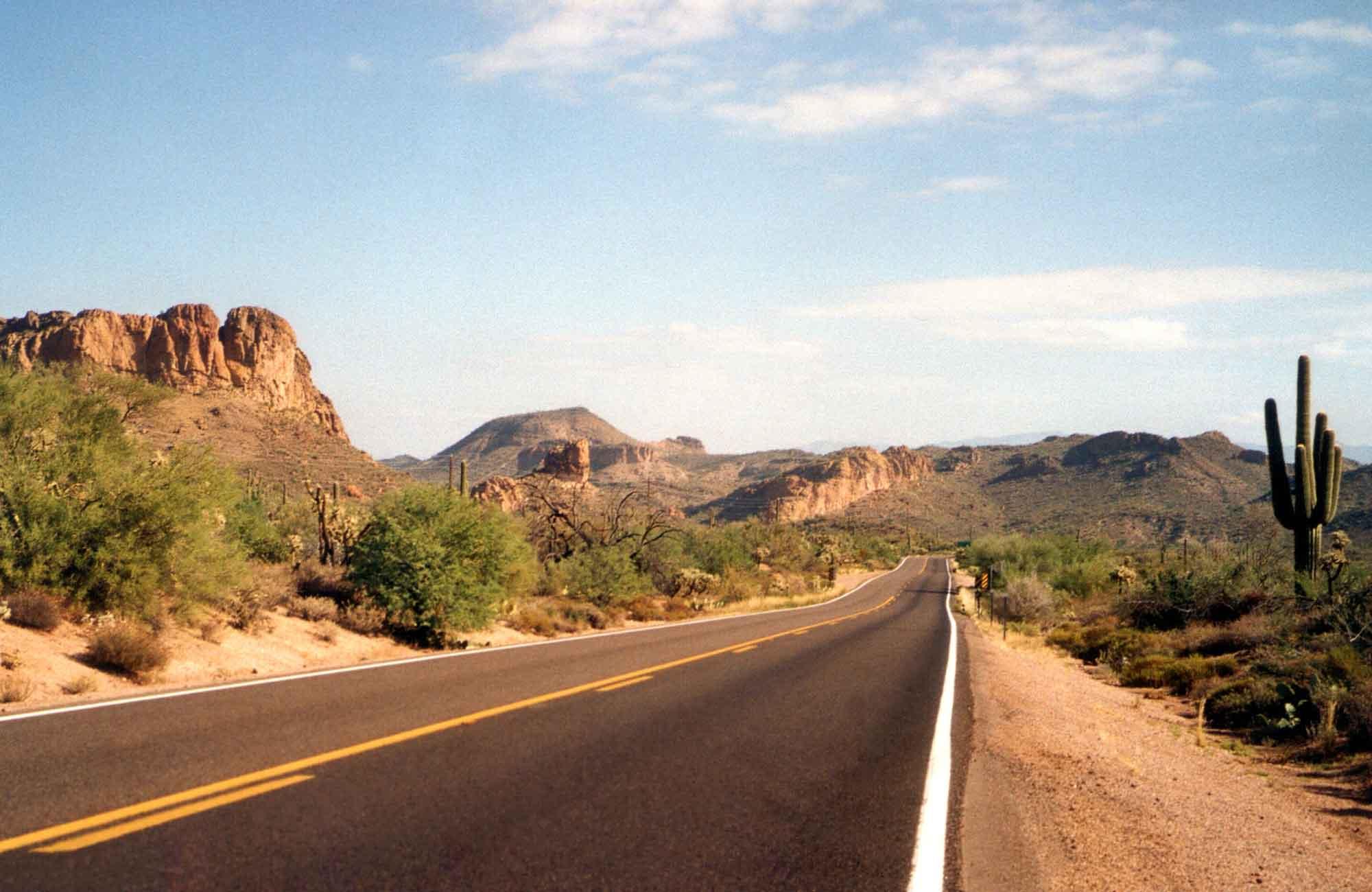 Voyage Etats-Unis - Arizona-apache-trail - Amplitudes