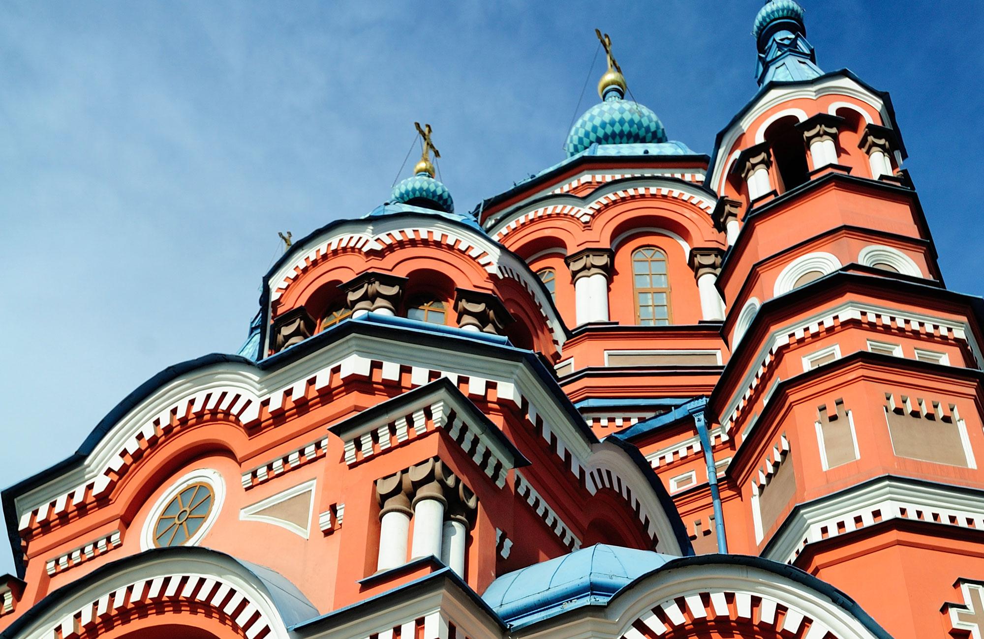 Voyage Russie - Cathédrale Notre-Dame-de-Kazan Irkoutsk - Amplitudes