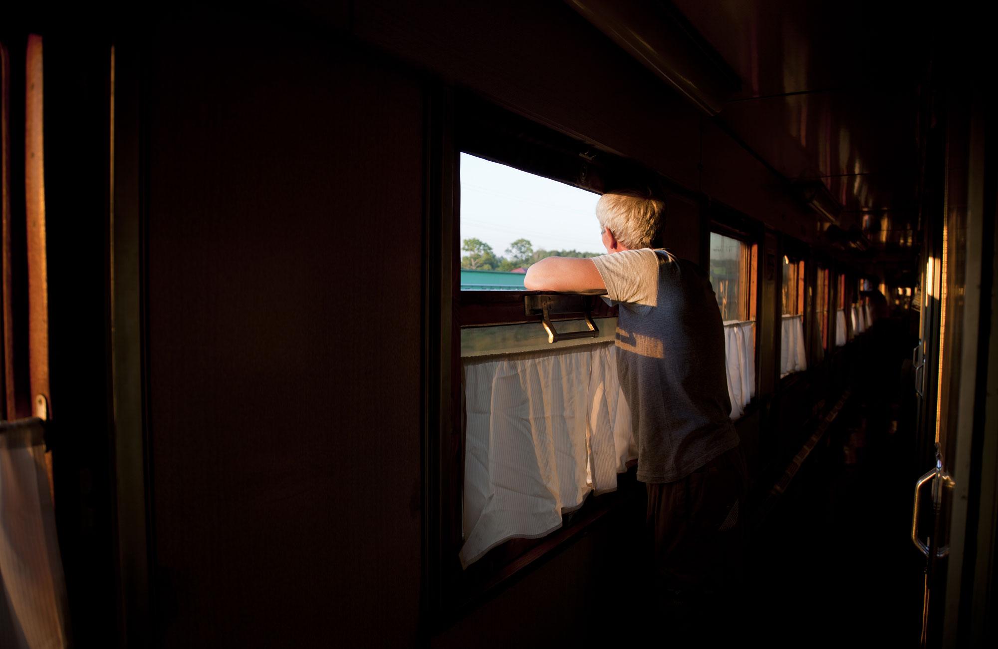 Voyage Transsibérien - Homme à bord - Amplitudes