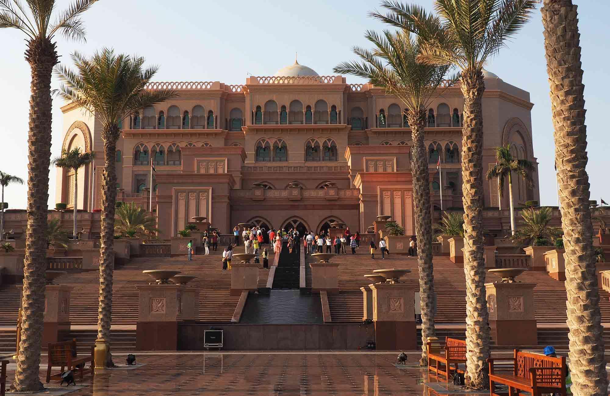Voyage Abu Dhabi - Emirates Palace - Amplitudes