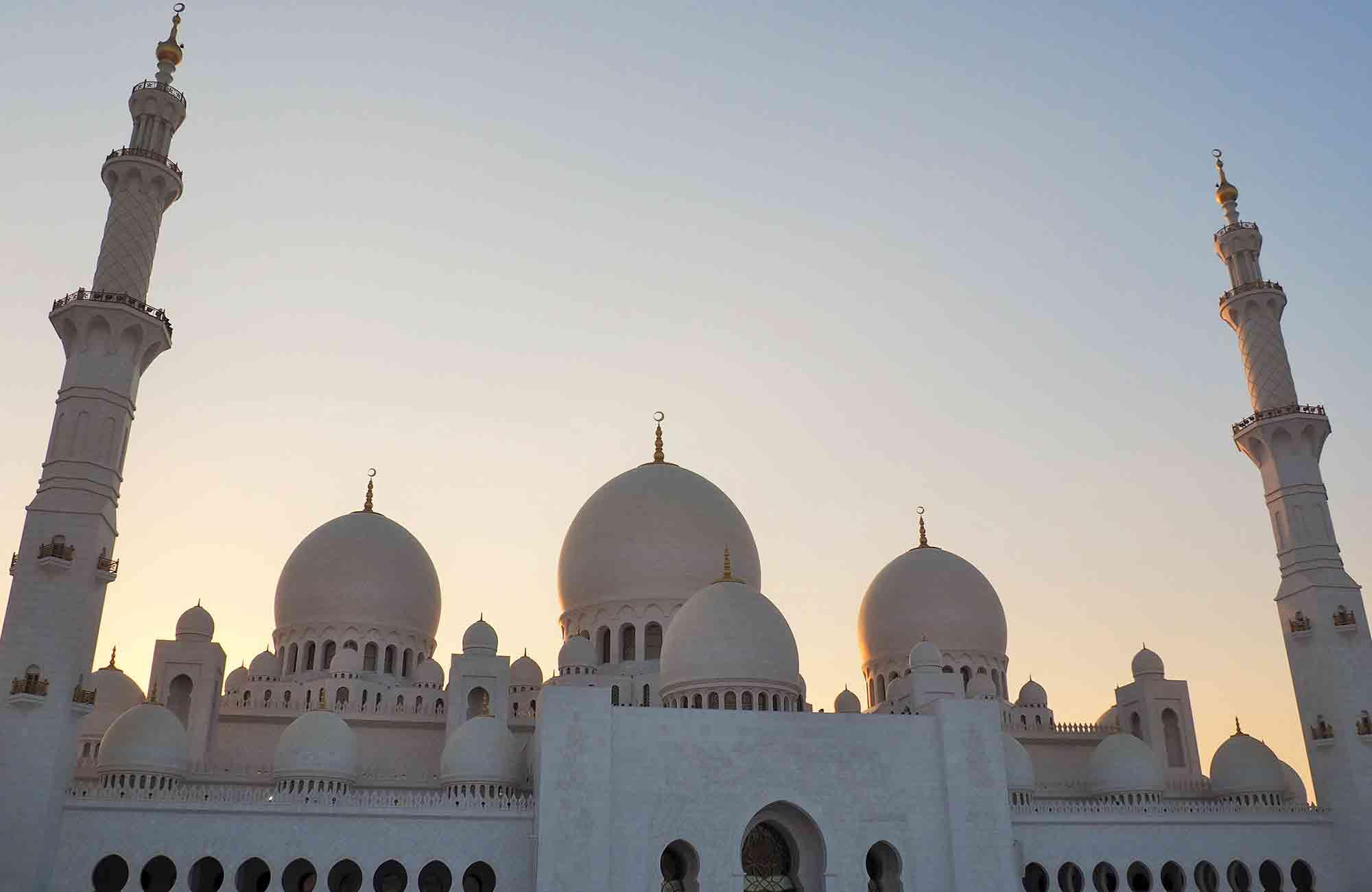 Voyage Abu Dhabi - Mosquée Cheikh Zayed - Amplitudes