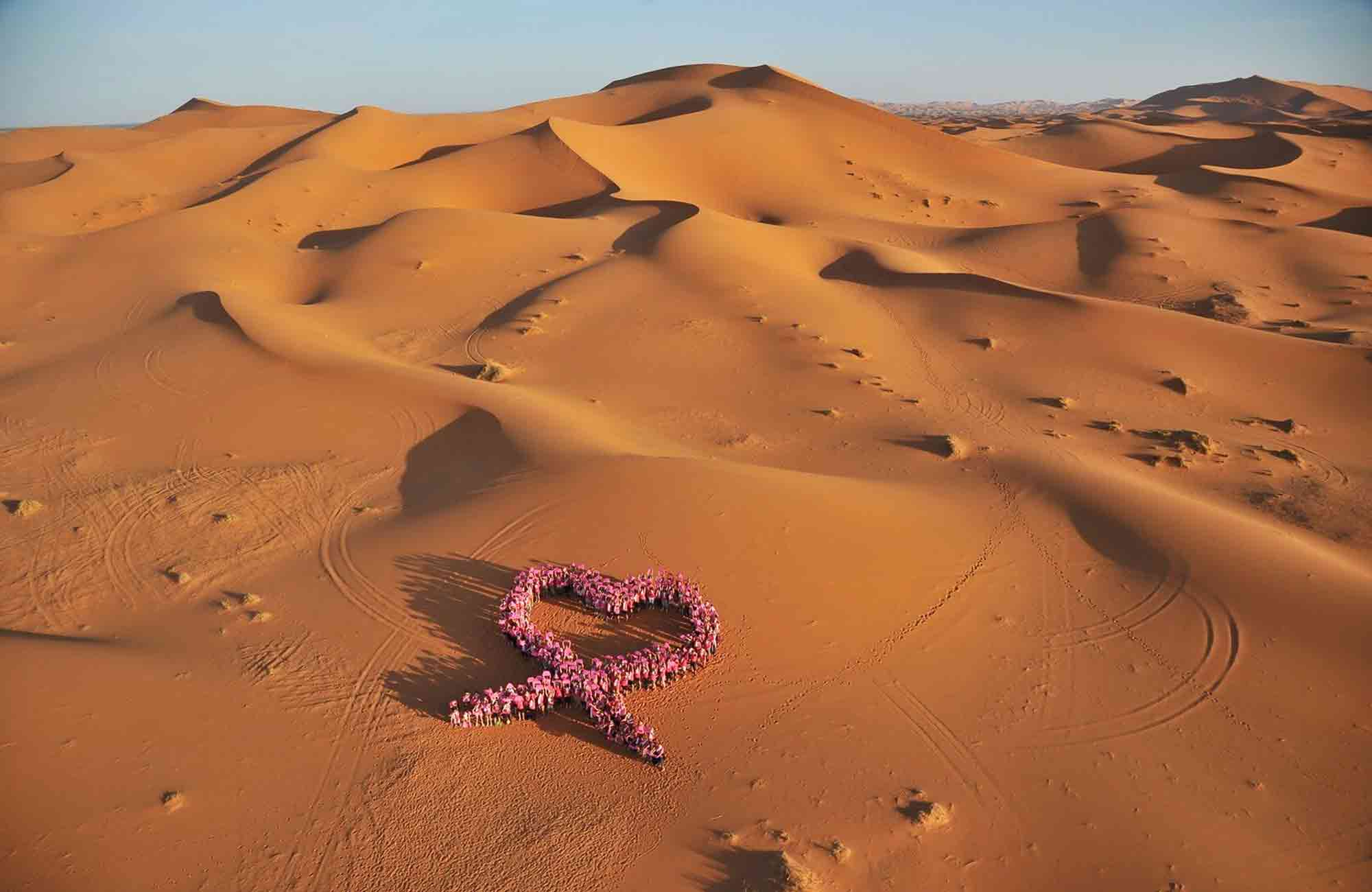 Trophée Rose des Sables - Cancer du Sein - Amplitudes