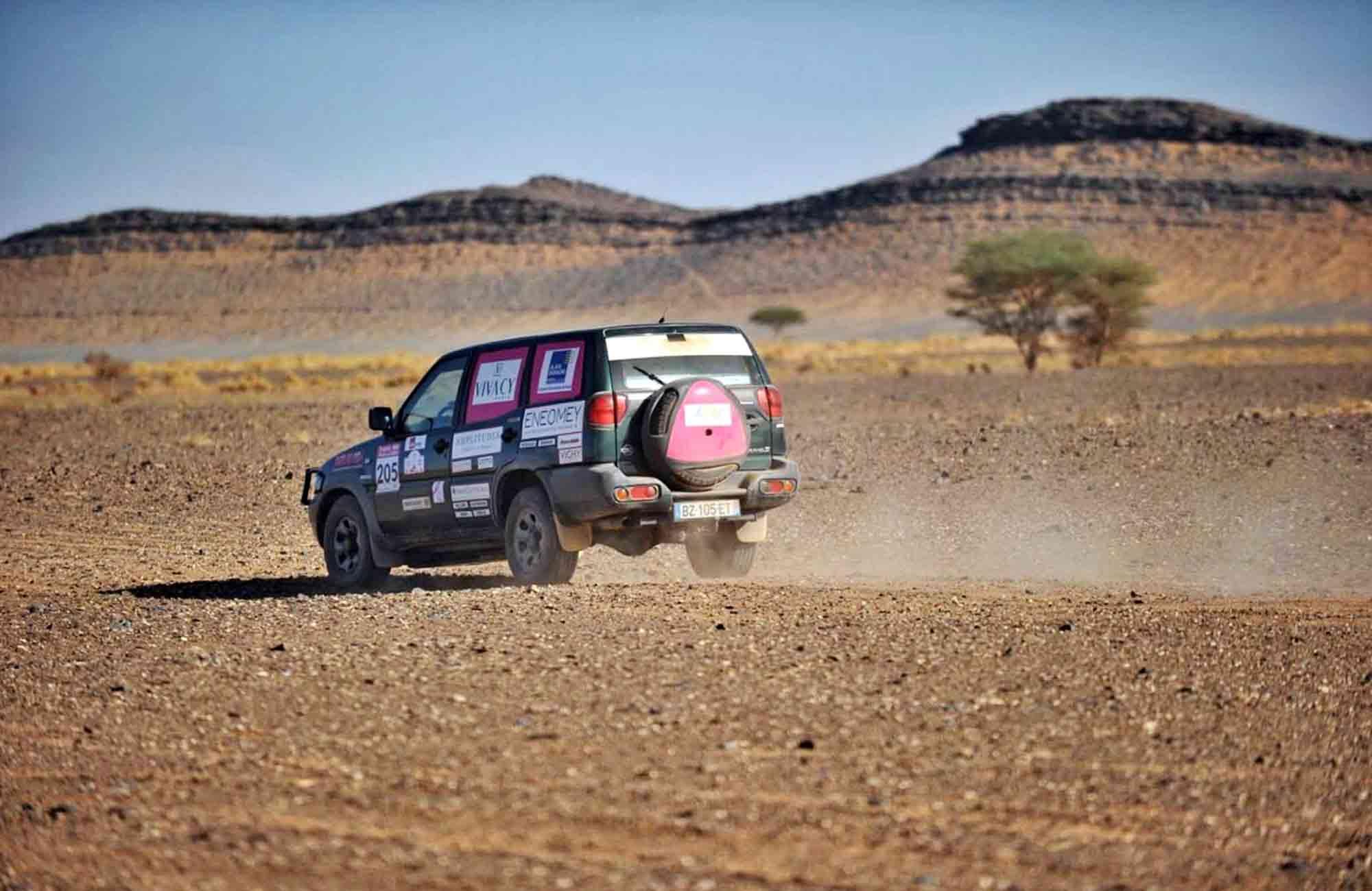 Trophée Rose des Sables - 4X4 Désert Marocain - Amplitudes