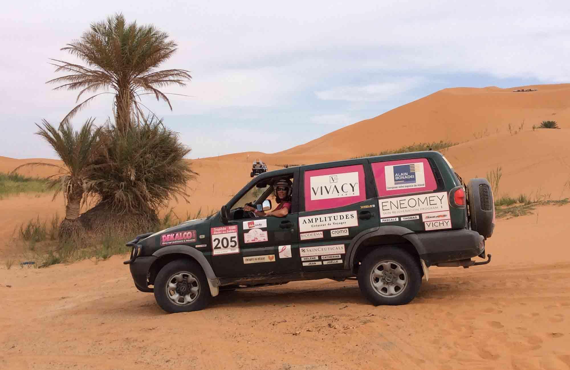Trophée Rose des Sables - Dunes Maroc - Amplitudes