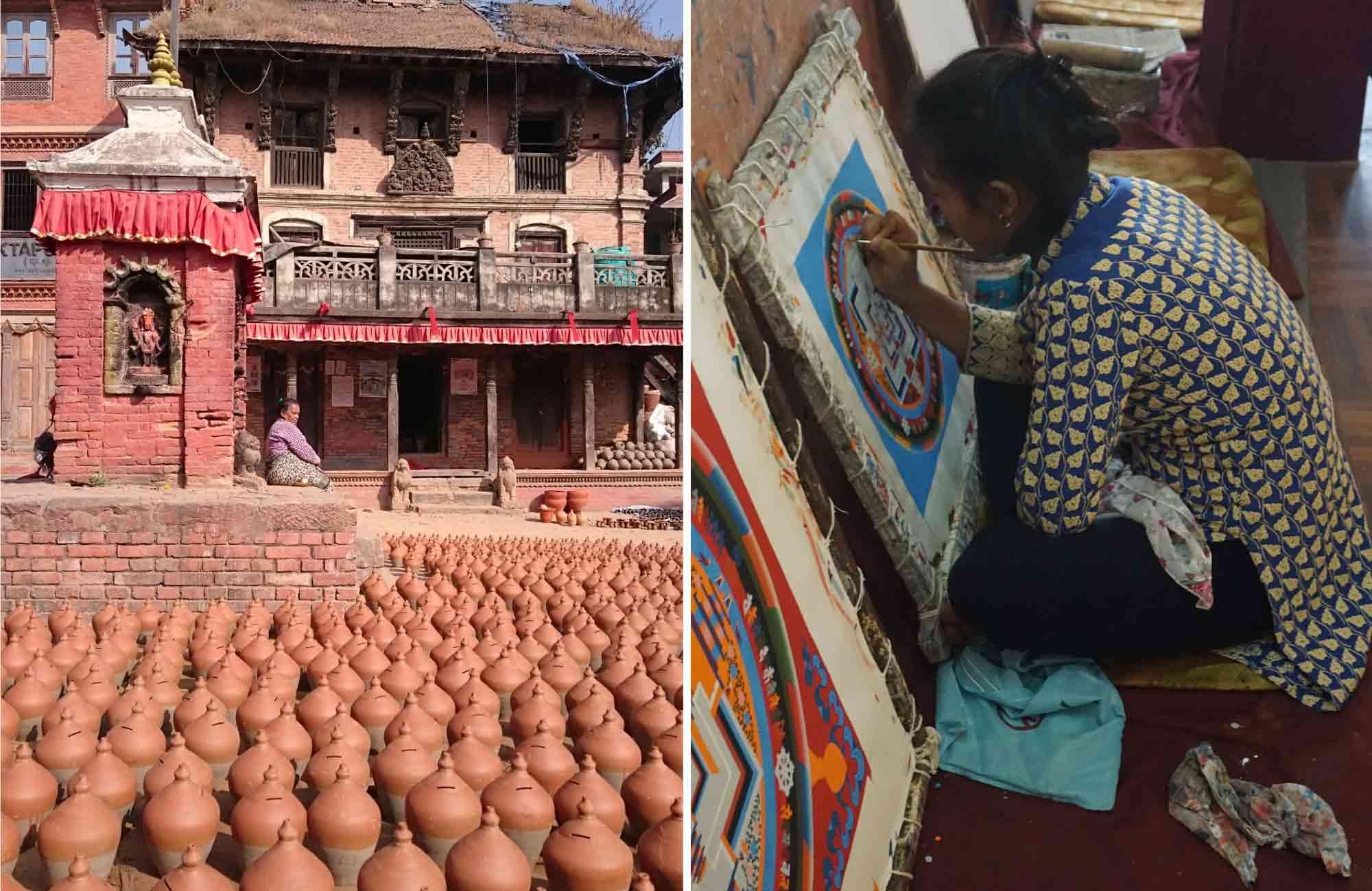 Artisanat au Népal - Amplitudes voyage
