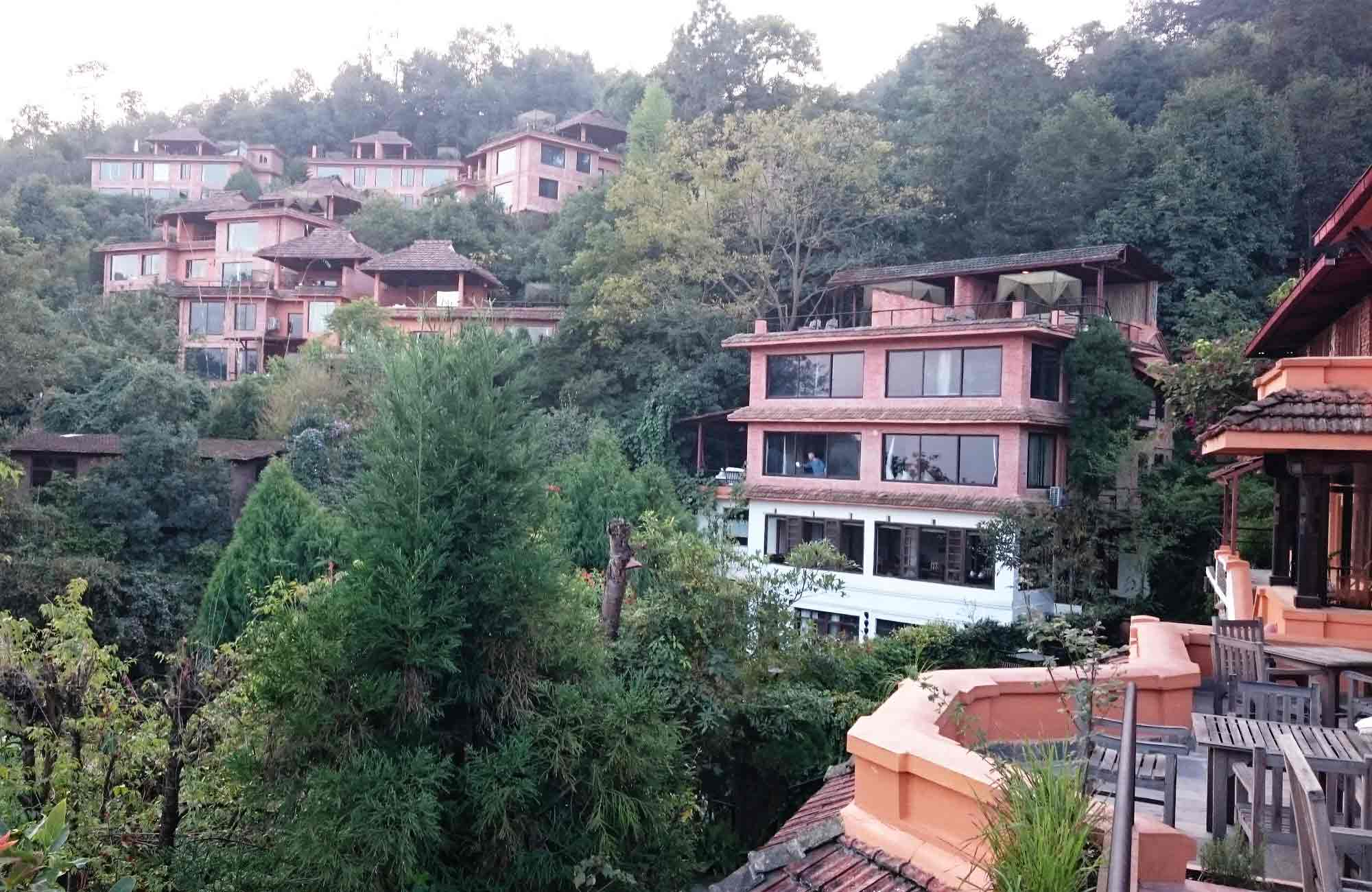 Hôtel à Dhulikel - voyage au Népal par Amplitudes