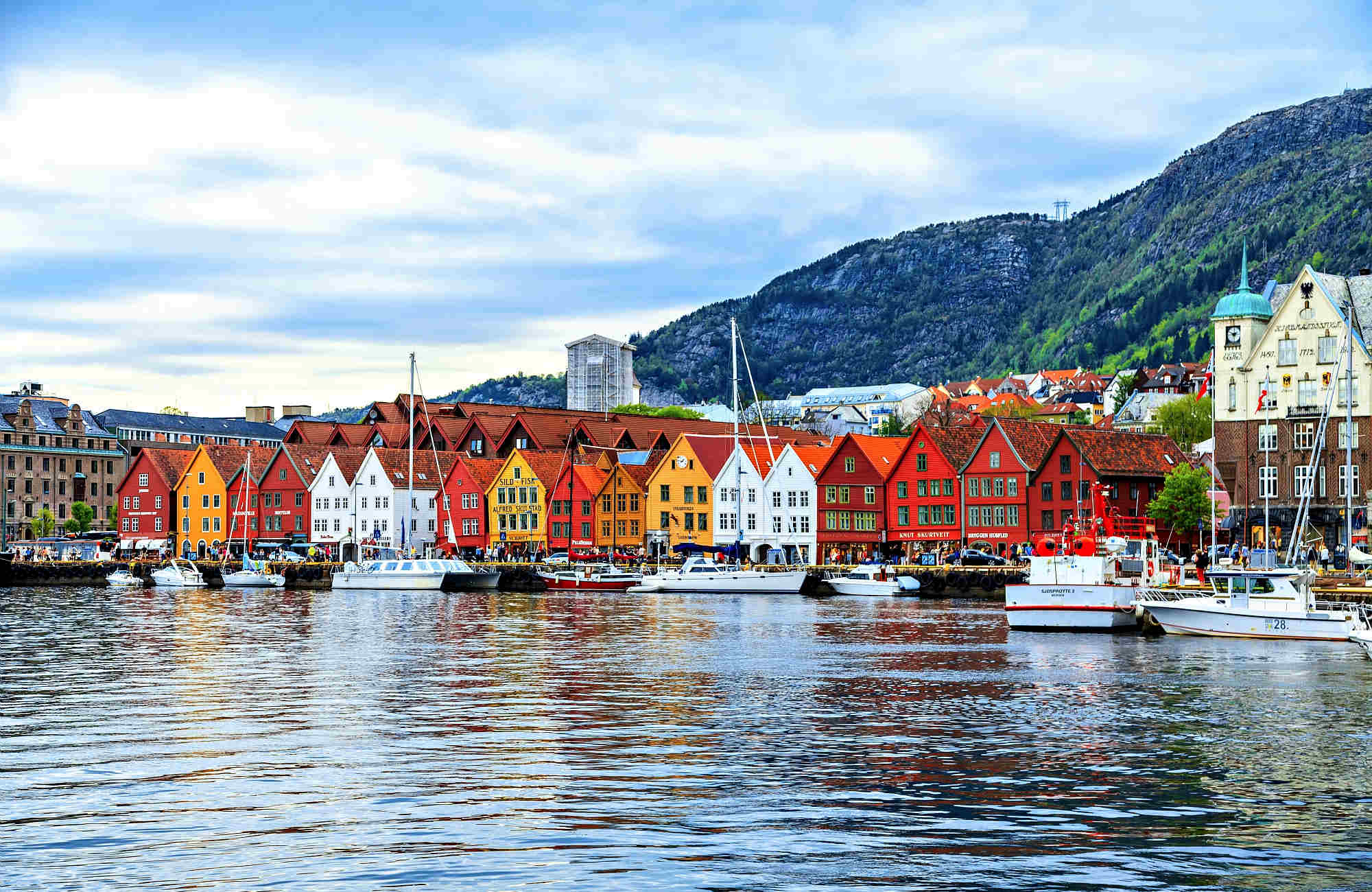 voyage romantique à Bergen en Norvège avec Amplitudes