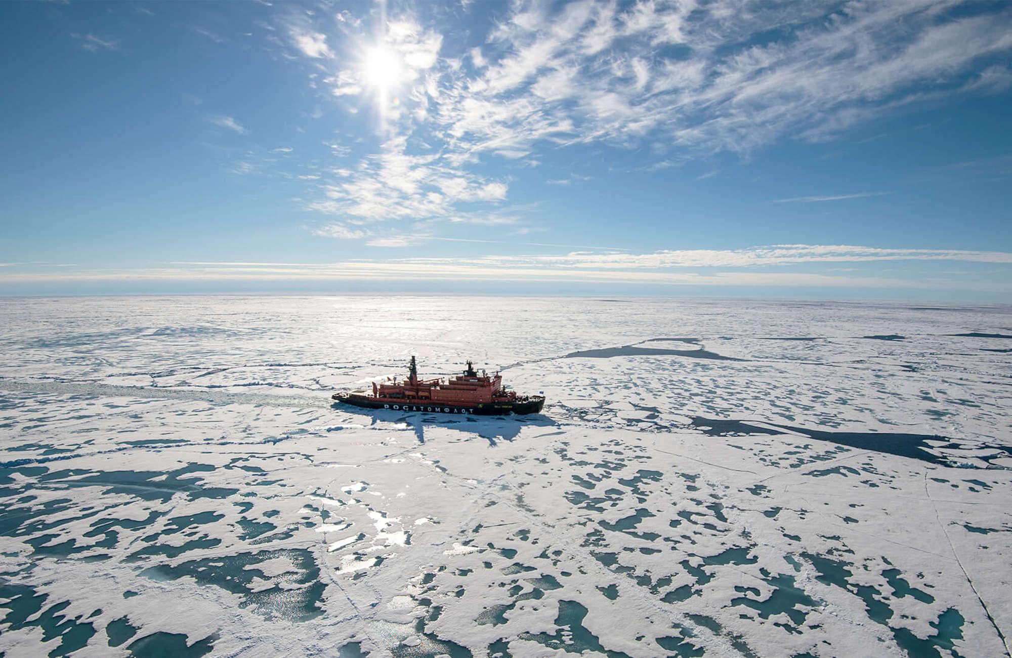 Voyage en couple au pôle nord à bord du 50 years of victory avec Amplitudes