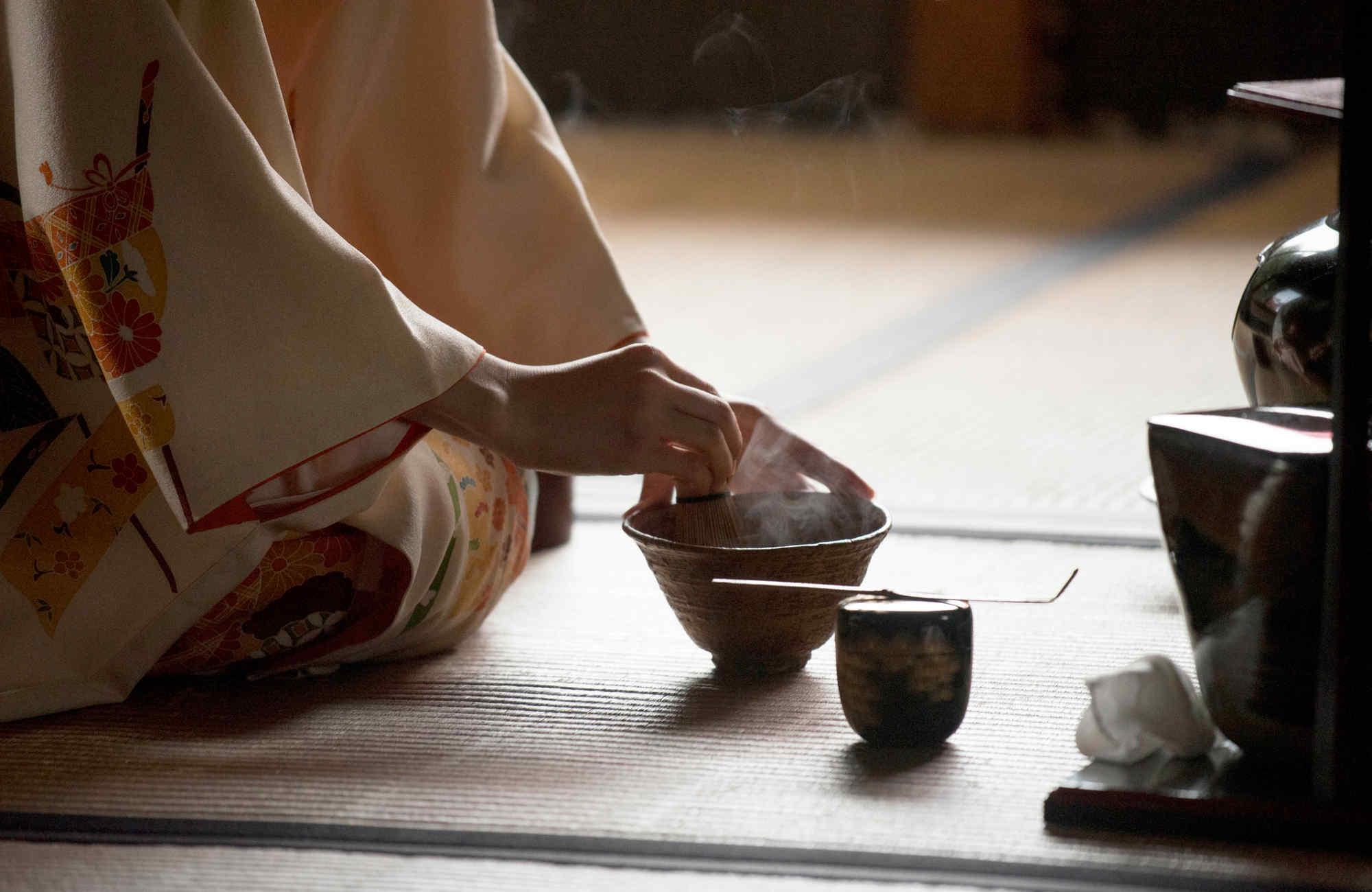 Cha-no-yu, la cérémonie du thé au Japon par Amplitudes
