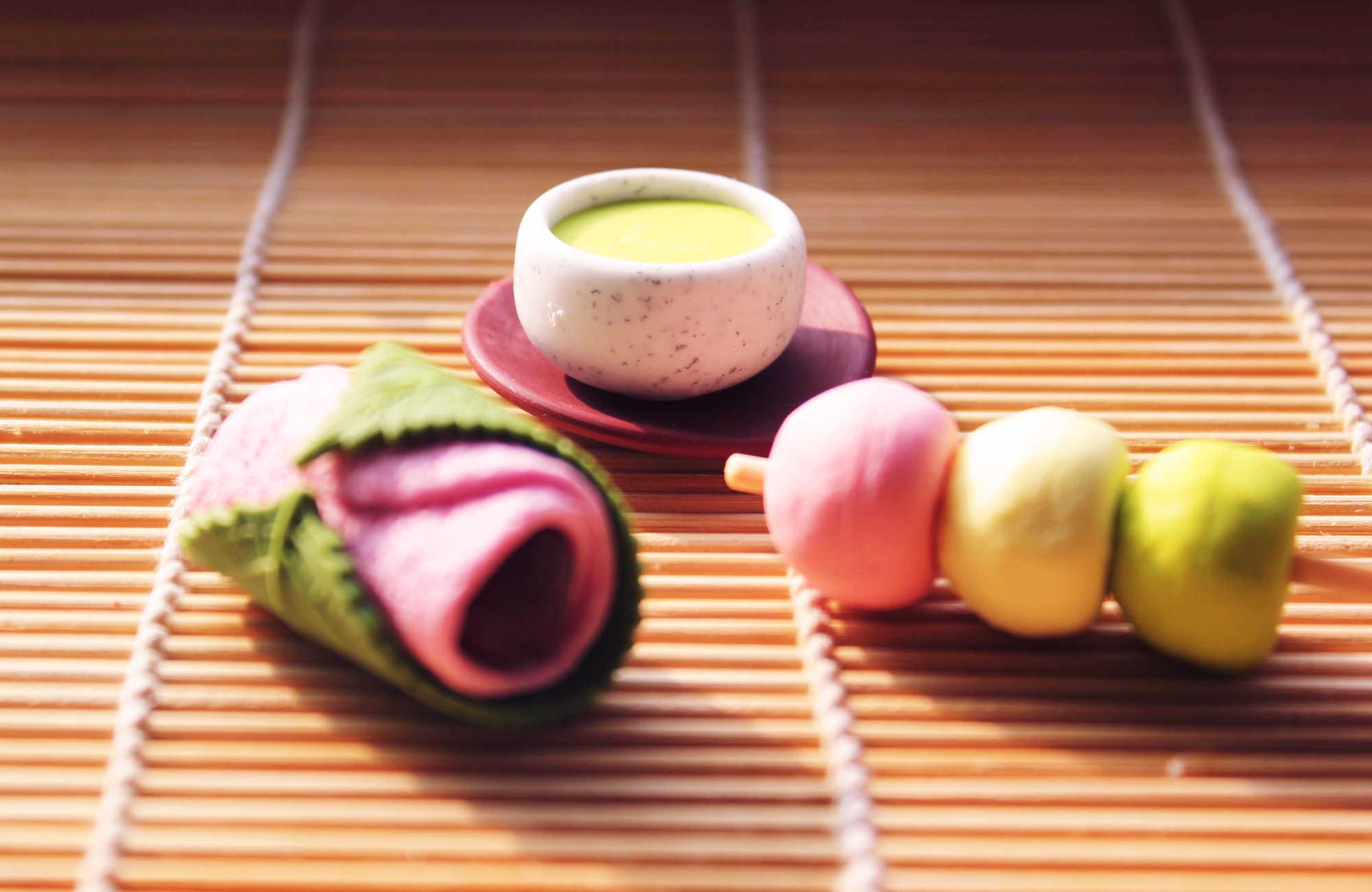 wagashi japonaise : dango, mochi, daifuku et dorayaki au Japon