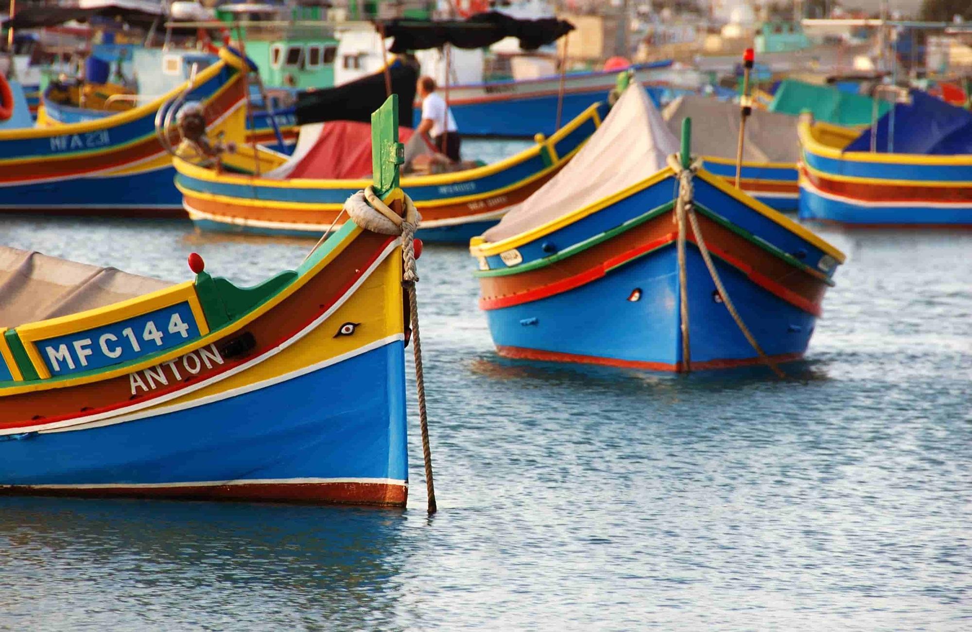 Voyage Malte - Luzzu - Amplitudes