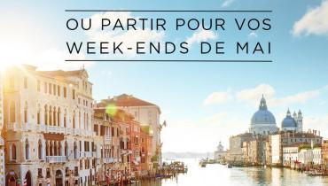 où partir pour vos week-ends de mai pour vos congés payés avec Amplitudes