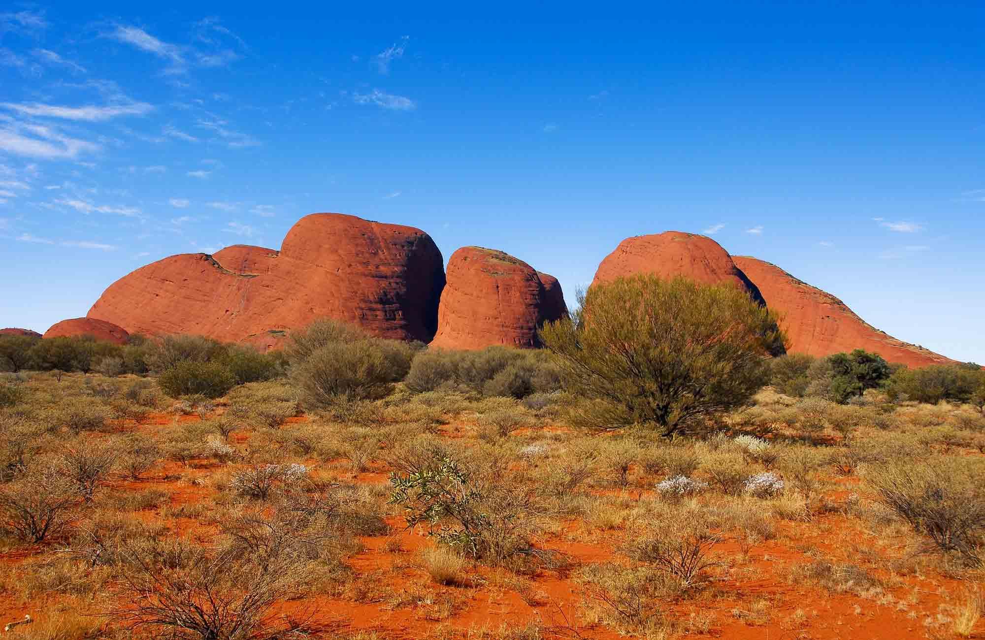 Voyage Australie - Kata Tjuta - Amplitudes